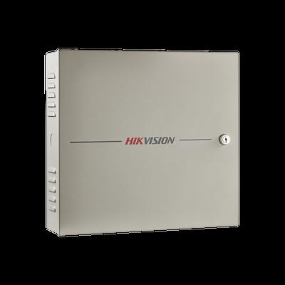 Controlador de Acceso / 2 Puerta / 4 Lectores de Huella y Tarjetas / Integración con Video / 100,000 Tarjetas / Incluye Gabinete y Fuente de Alimentación 12VCD/8A / Soporta batería de respaldo