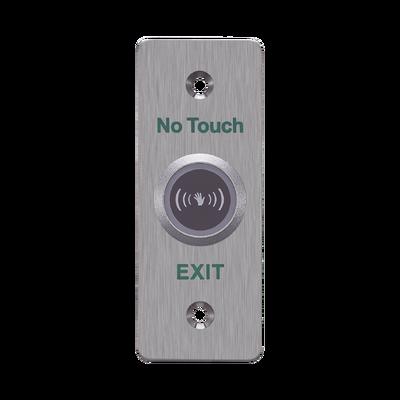 Botón de Salida sin Contacto / LED Indicador / Normalmente Abierto y Cerrado / Distancia Ajustable de Detección