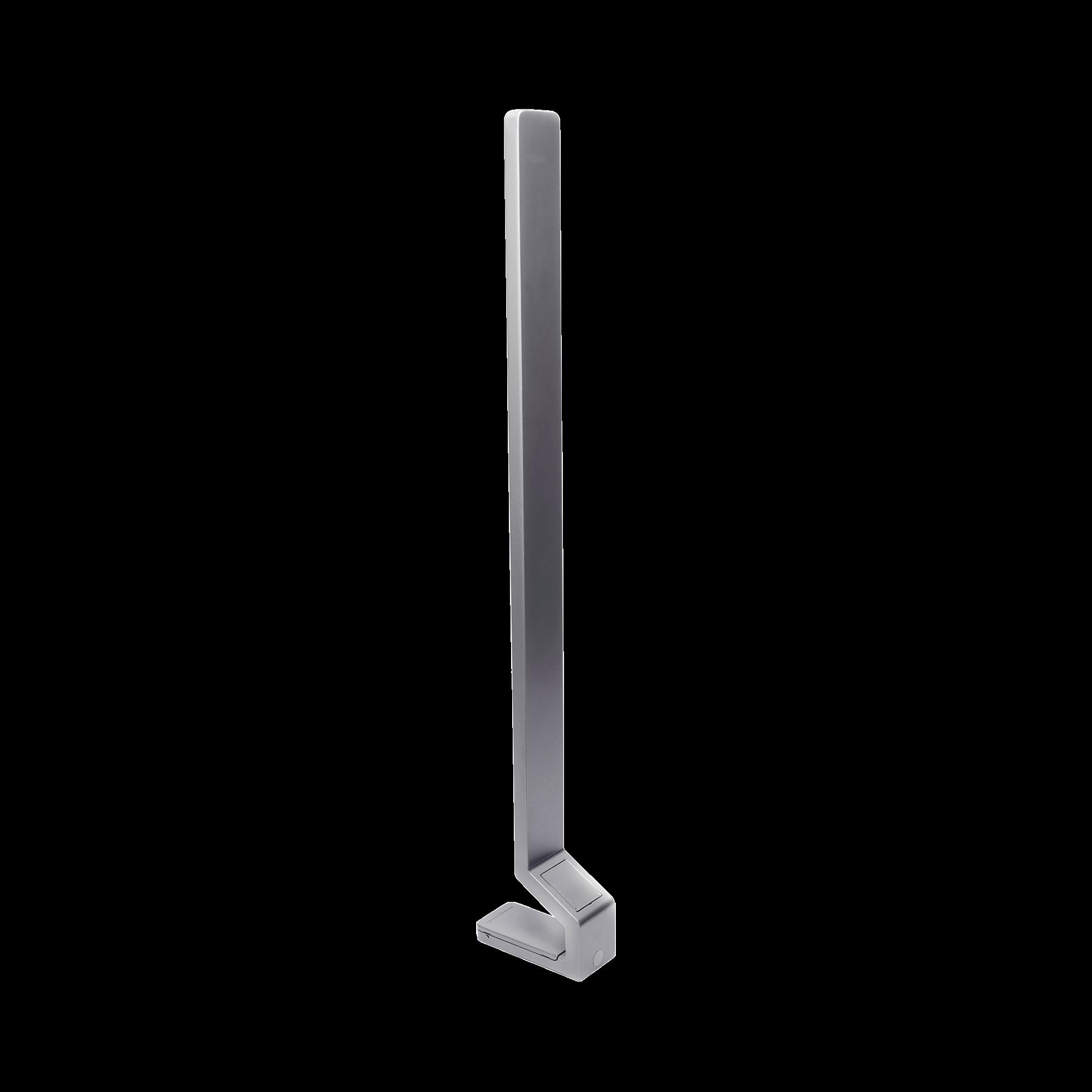 Pedestal de Piso para Lectores de Rostro HIKVISION de la serie DS-K1T607 y DS-K1T671 - También Compatible con Biometricos Termicos Industriales
