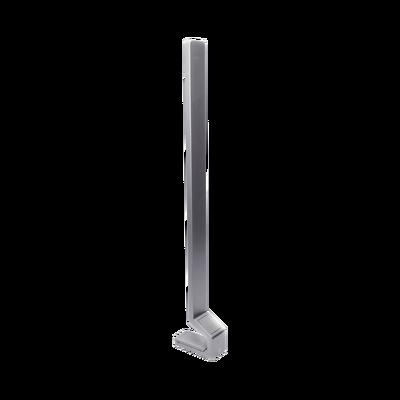 Pedestal de Piso para Lectores de Rostro HIKVISION de la serie DS-K1T607, DS-K1TA70MI-T y DS-K1T671 - También Compatible con Biometricos Termicos Industriales
