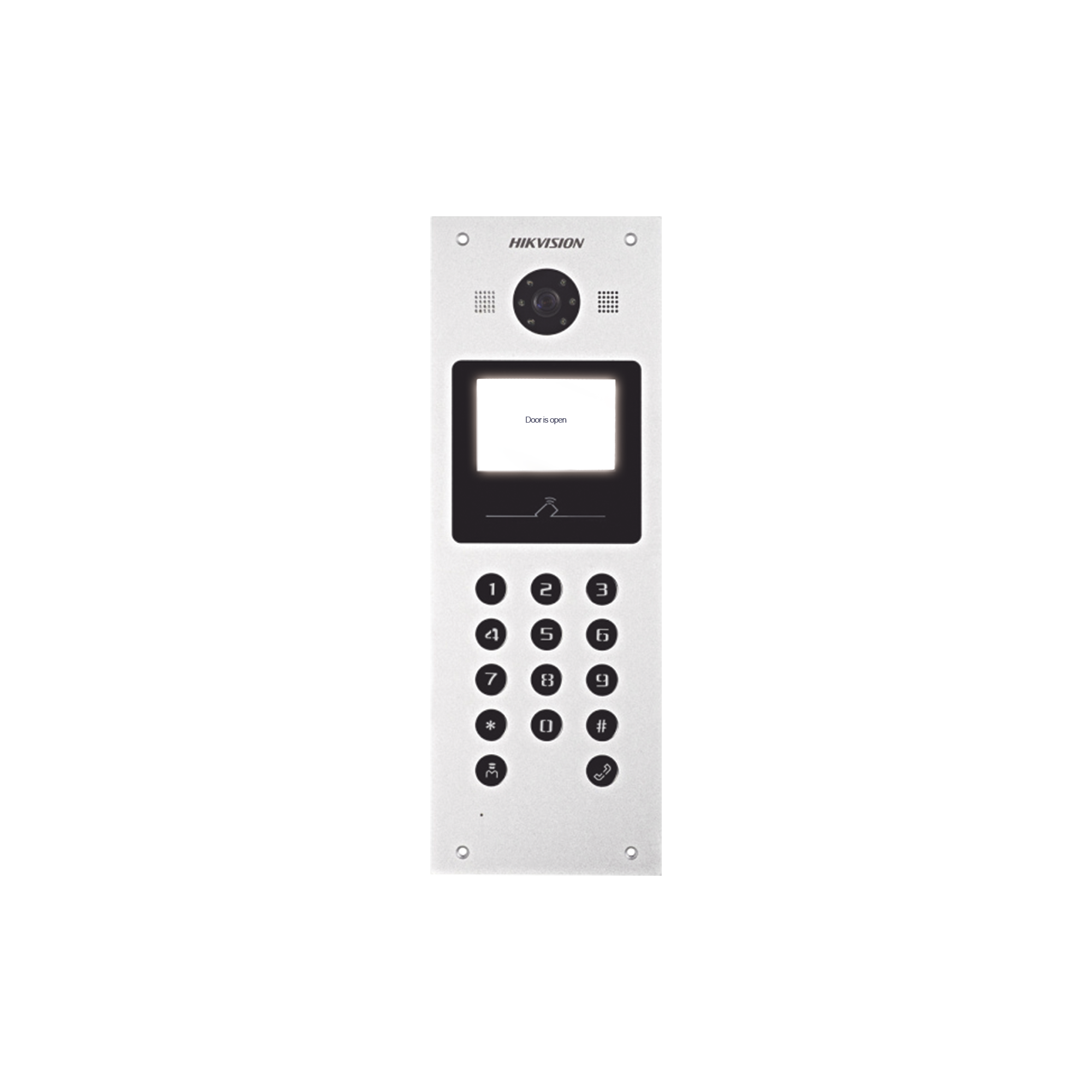 Sistema Multiapartamento IP / Lector de Tarjetas MIFARE para Función de Acceso / Cámara 1.3 Megapixel/ IP65