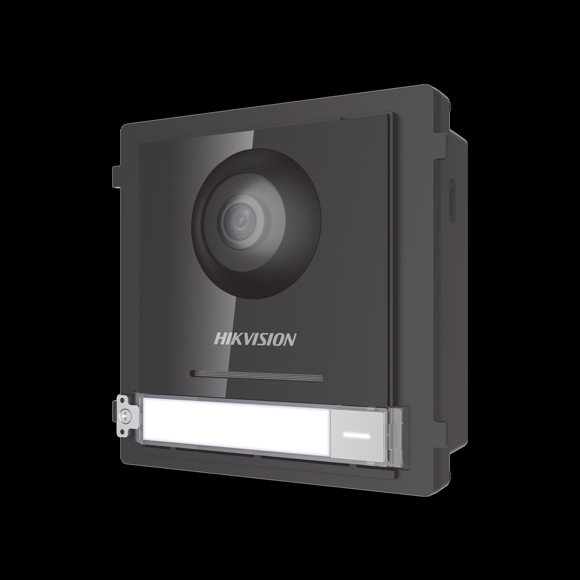 Frente de calle IP 2 Megapixel para Videoportero Modular / PoE / Angulo 180? / Ultra Baja Iluminación / Exterior IP65 / WDR 120 dB