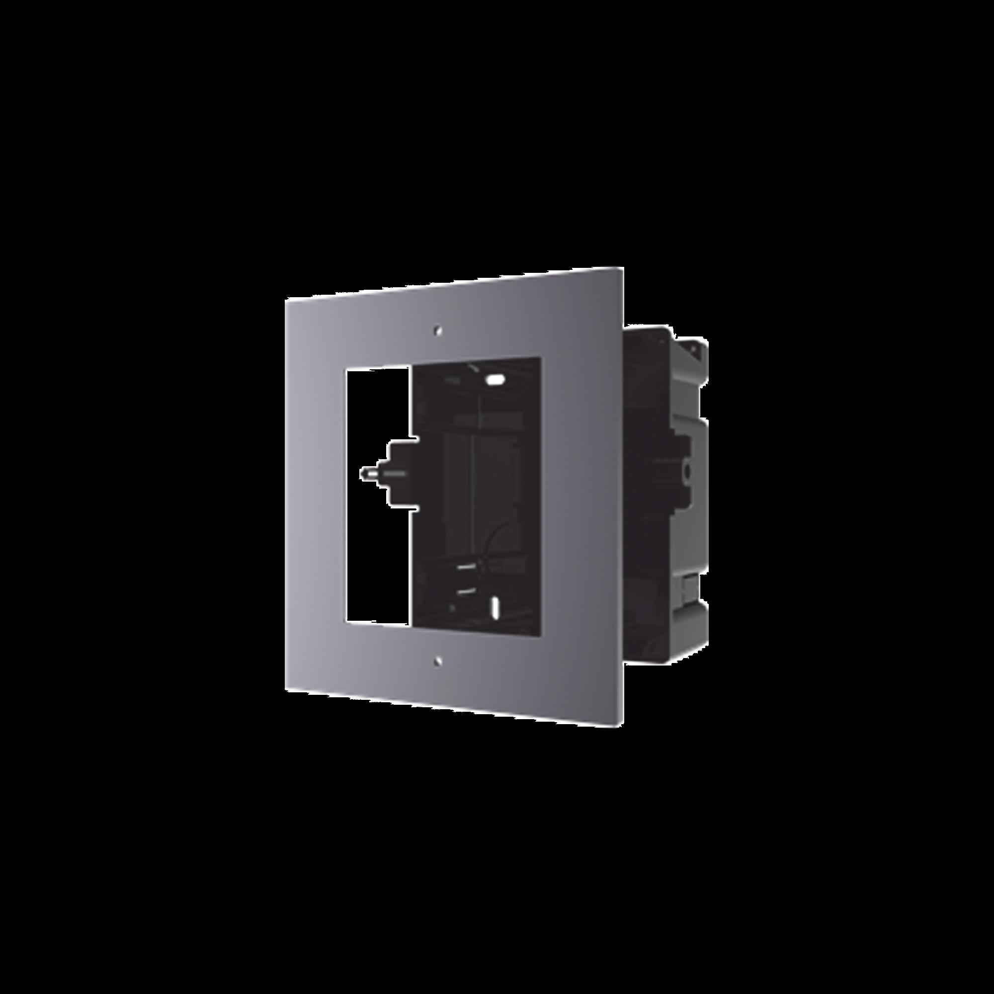 Base de 1 Espacio para EMPOTRAR Videoportero Modelo  DS-KD8003-IME1