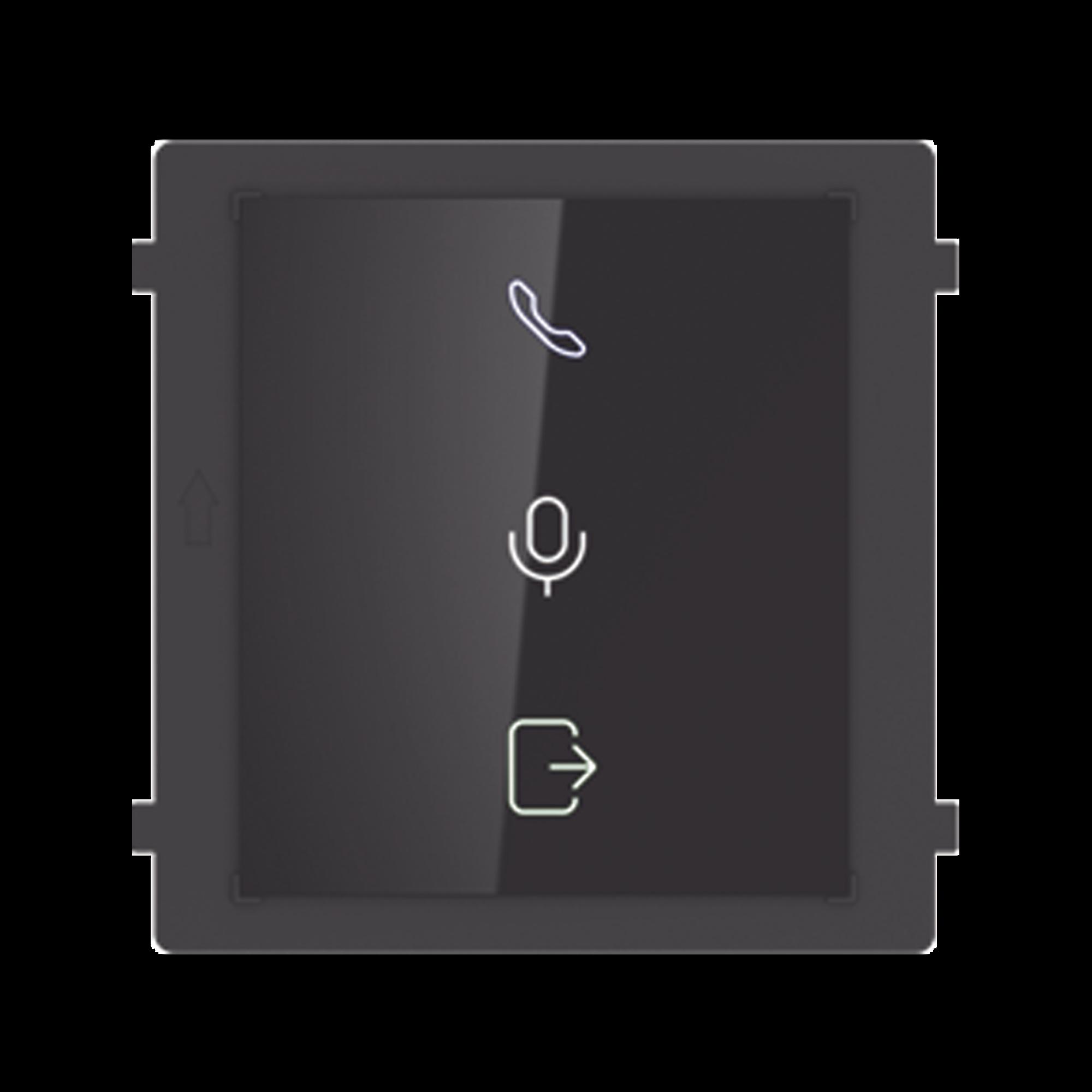 Modulo para Indicar Recepcion de Llamada / Apertura de Puerta o Audio Bidireccional en Videoportero IP Modular