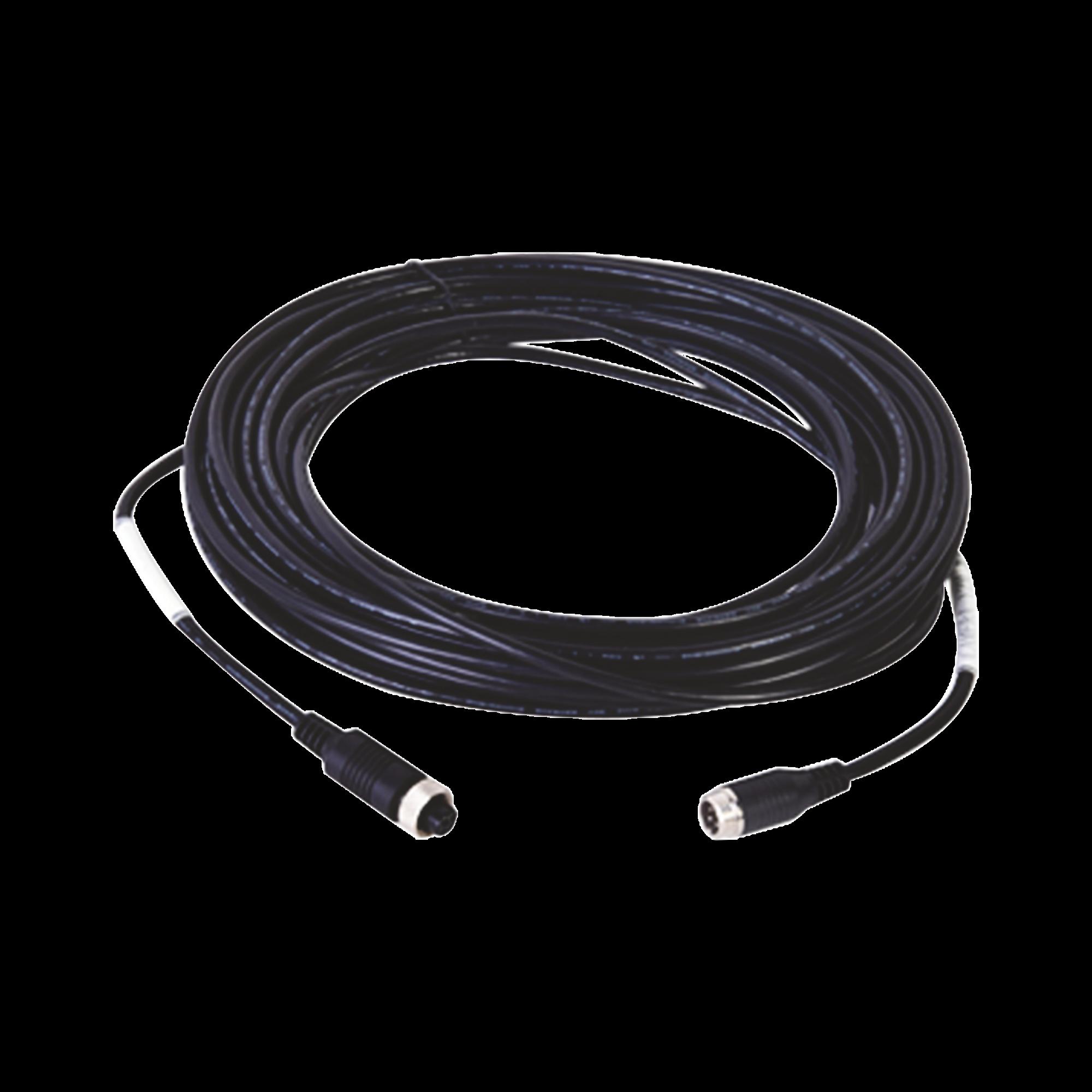Cable Extensor de Vídeo y Audio de 14 Metros / Conector Tipo Aviación / Compatible con Cámara Móvil HIKVISION
