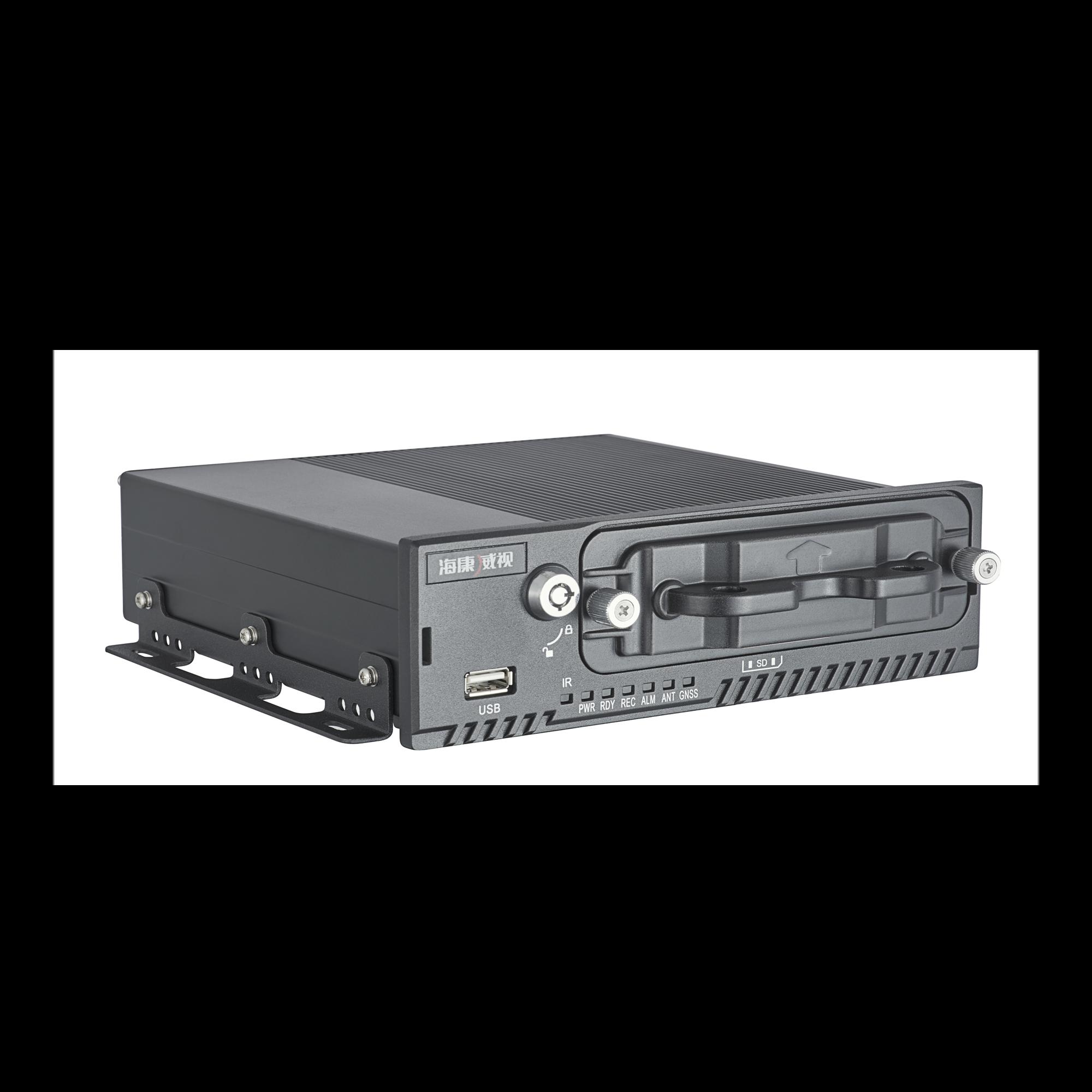 DVR Móvil 4 Canales 1080P/ Soporta 3G, GPS y WiFi / 1 TB de Disco Incluido / Monitoreo Remoto / Soporta Memoria SD