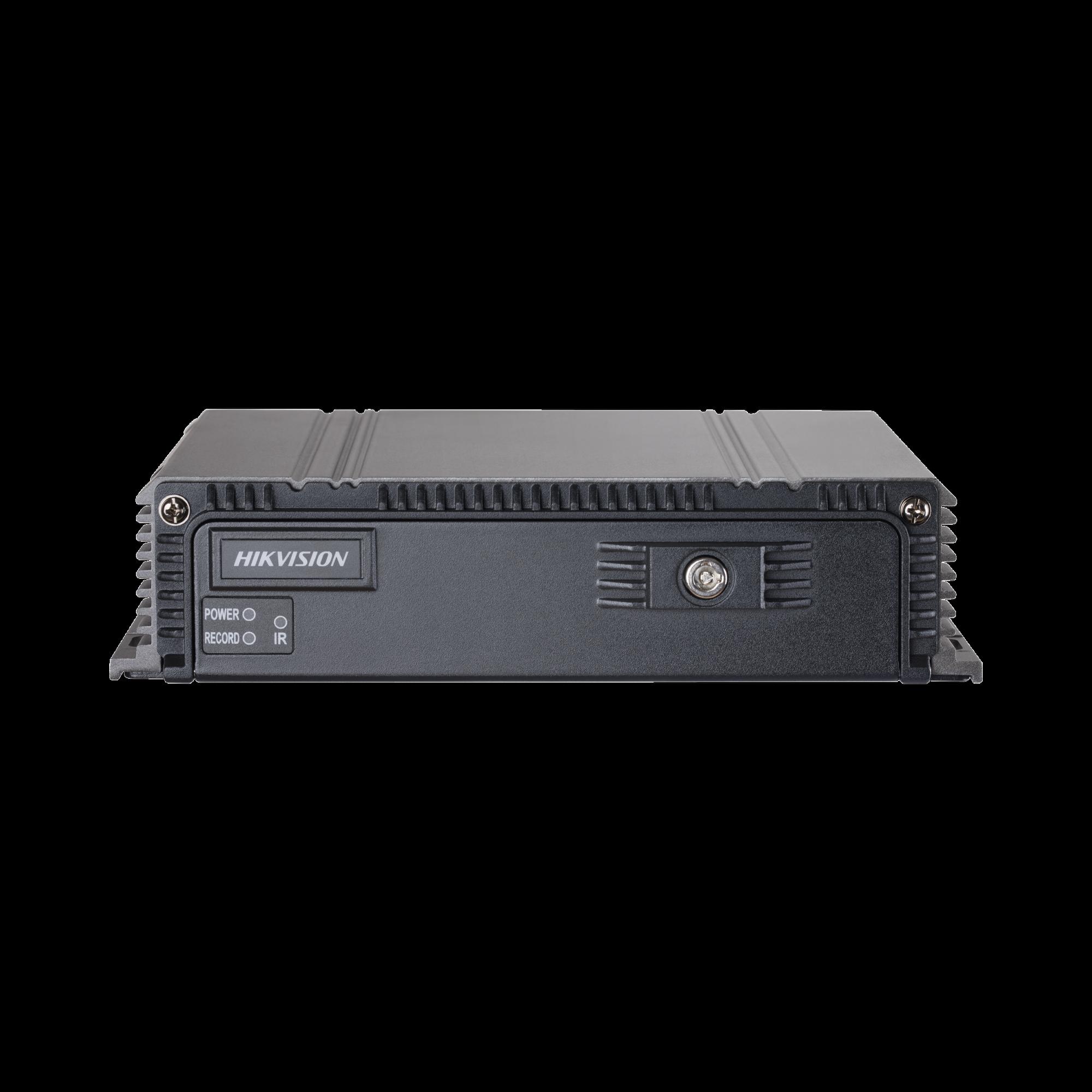 DVR Móvil 1080P / 4 Canales TURBO + 4 Canales IP / Soporta 4G / WiFi / GPS / Soporta Memoria SD