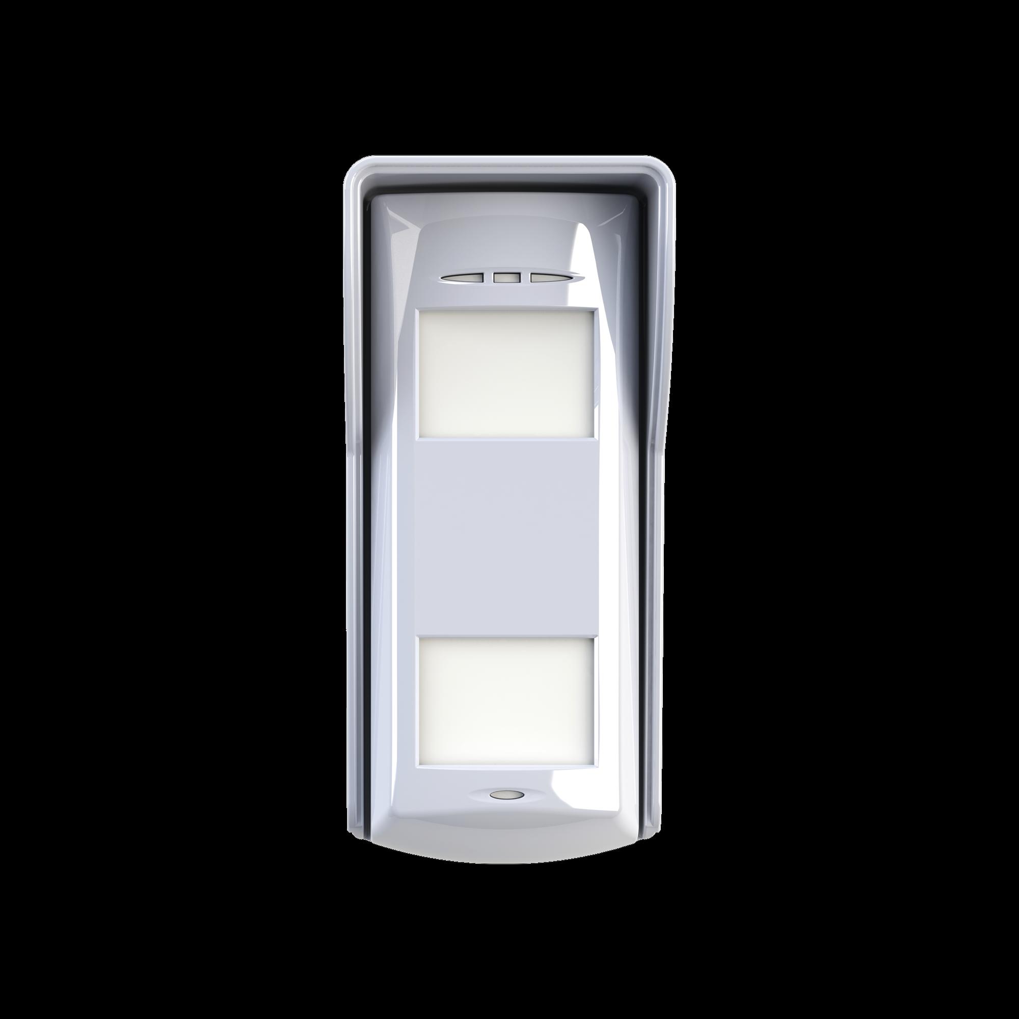 (AX HUB) Detector Dual-Tech inalámbrico para exterior compatible con alarmas HIKVISION