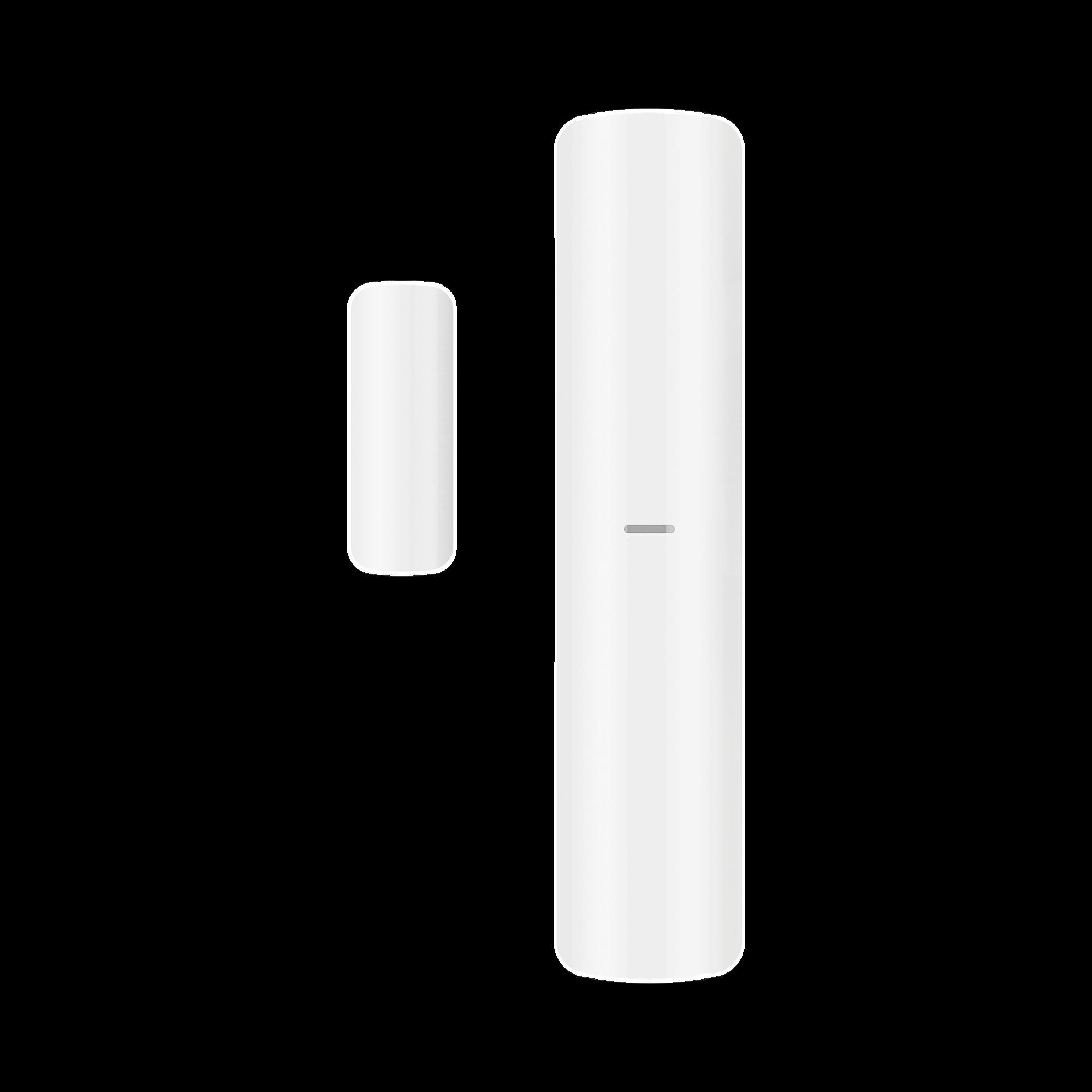 (AX PRO) Contacto Magnético Inalámbrico + 2 ZONAS PARA AGREGAR SENSORES CABLEADOS / 3 en 1 / Soporta 2 Zonas Cableadas