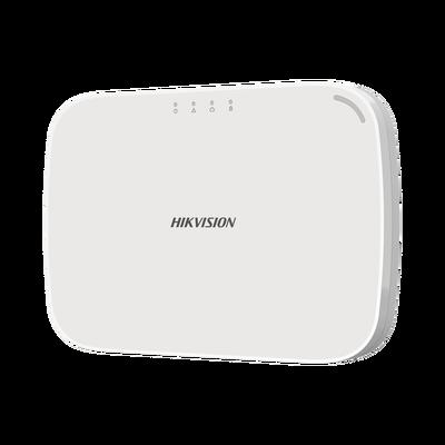 Panel de Alarma Híbrido IP / WiFi / (8 Zonas Cableadas Directas al Panel, 56 Zonas Expandibles / Inalámbricas o Cableadas por Medio de Módulos)