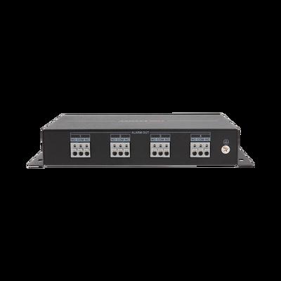 Módulo de 4 Relevadores de Capacidad 30 VCD (Max. 1 A) / Para Funciones de Automatización / Comunicación RS-485