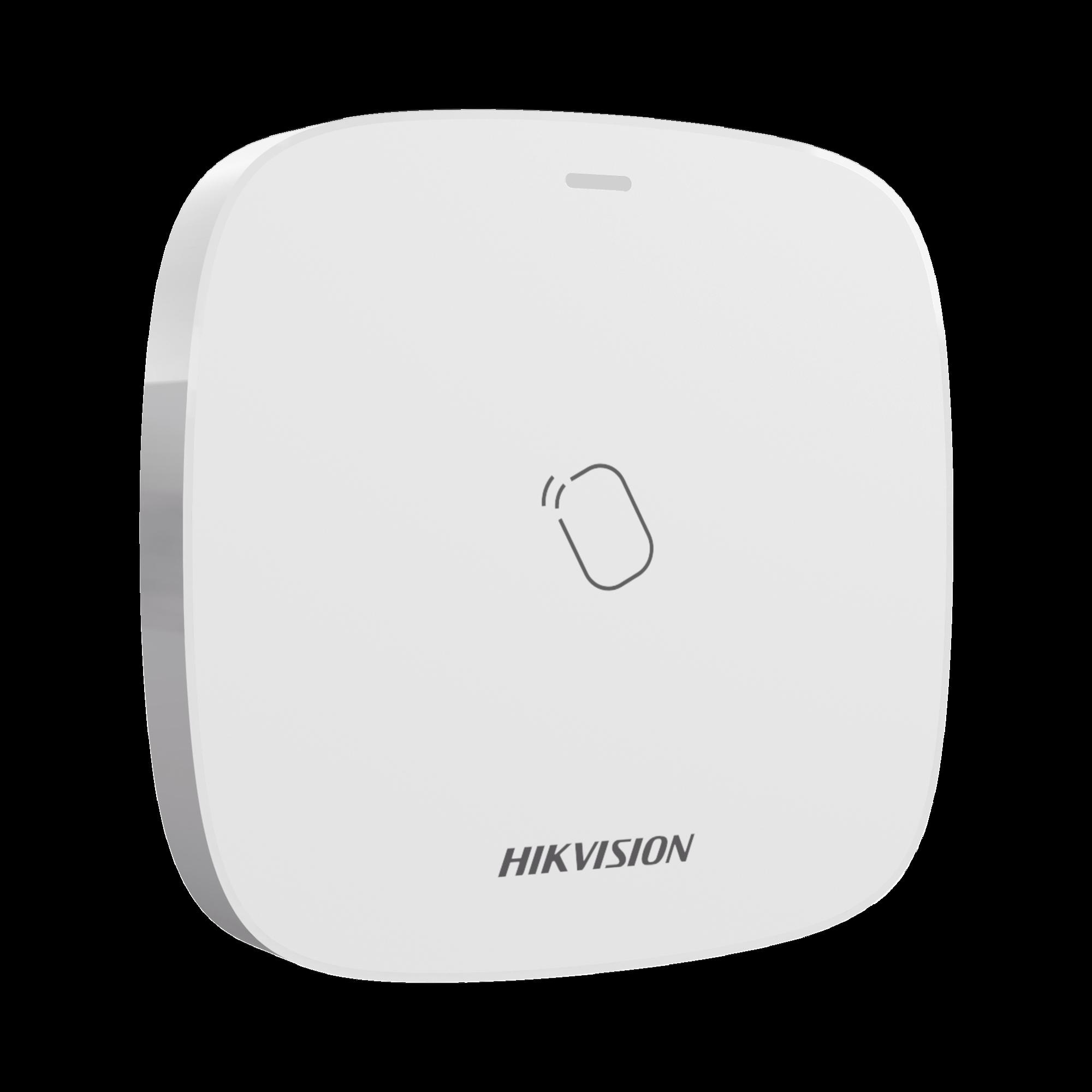 (AX HUB) Lector de Tag Inalámbrico para Panel de Alarma HIKVISION / Exterior IP65 / Permite Armar y Desarmar