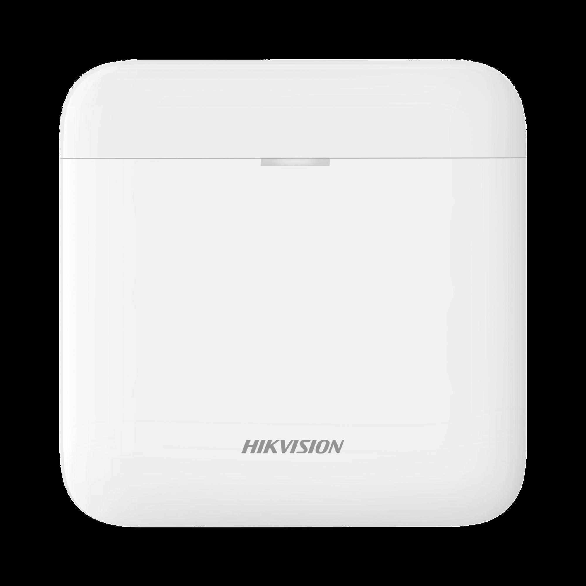 (AX PRO) Panel de Alarma Inalámbrico de Hikvision / Soporta 48 Zonas / Wi-Fi y Ethernet / Compatible con los Accesorios AX PRO.
