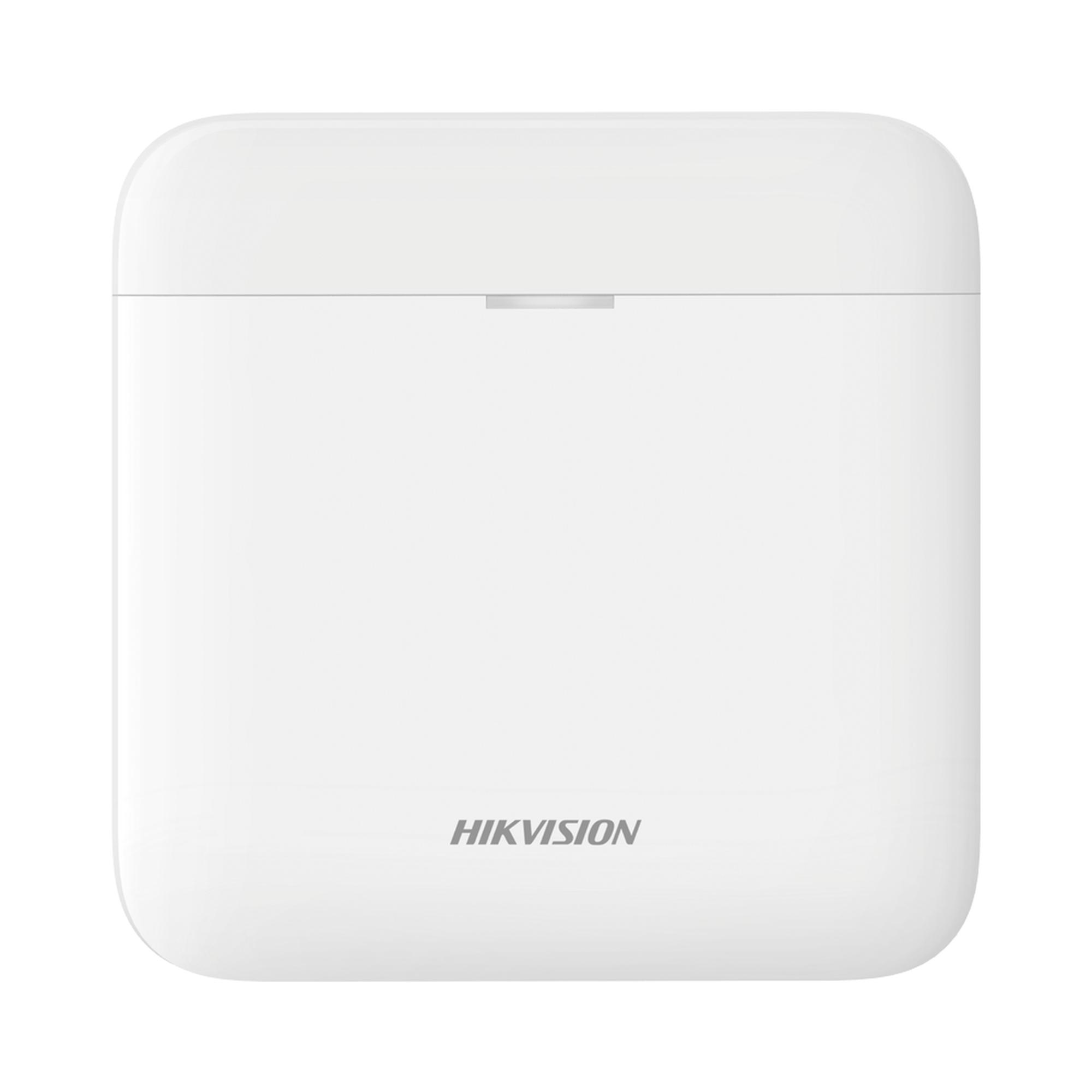 (AX PRO) Panel de Alarma Inalámbrico de Hikvision / Soporta 48 Zonas / GSM 3G/4G, Wi-Fi y Ethernet / Compatible con los Accesorios AX PRO.