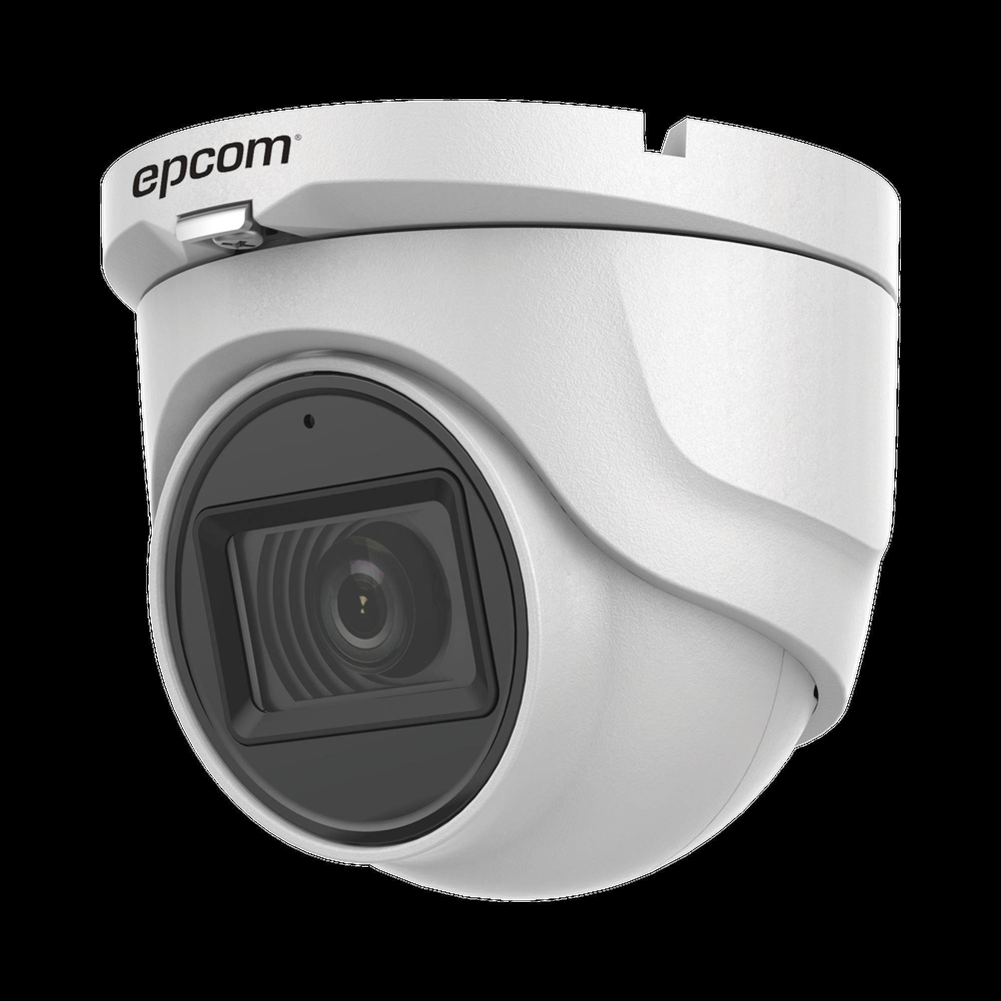 AUDIO POR COAXITRON / Turret TURBOHD 5 Megapixel / Angulo de vision 85.5? / Lente 2.8 mm / 30 mts IR EXIR / Exterior IP67 / 4 Tecnologías / dWDR