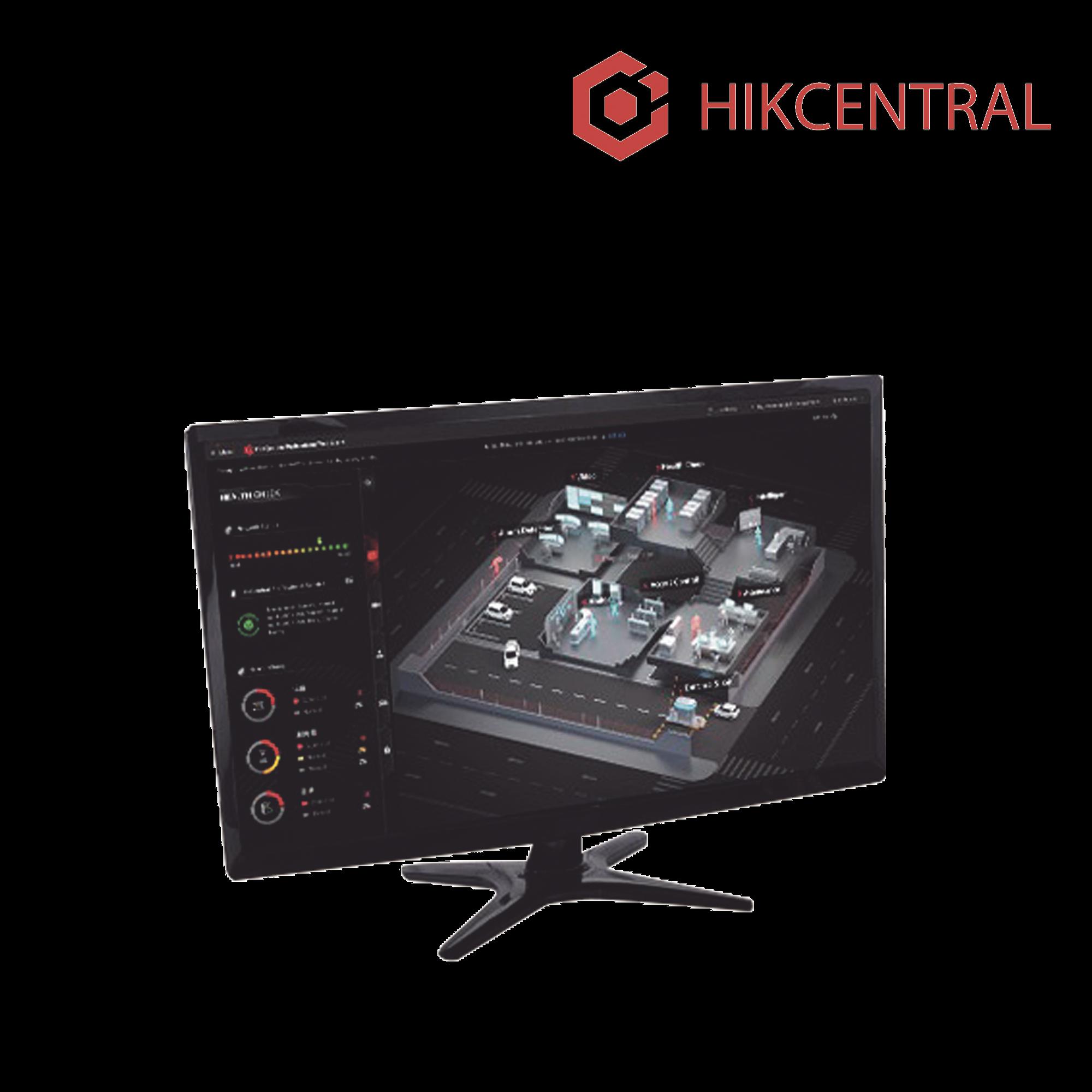 Hik-Central / Licencia para Agregar 1 Canal Adicional de Video (HikCentral-P-VSS-1Ch)