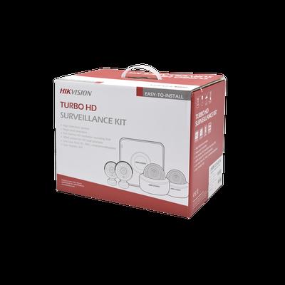 KIT TurboHD 1080p / Hik-Connect / DVR 4 Canales / 4 Cám...