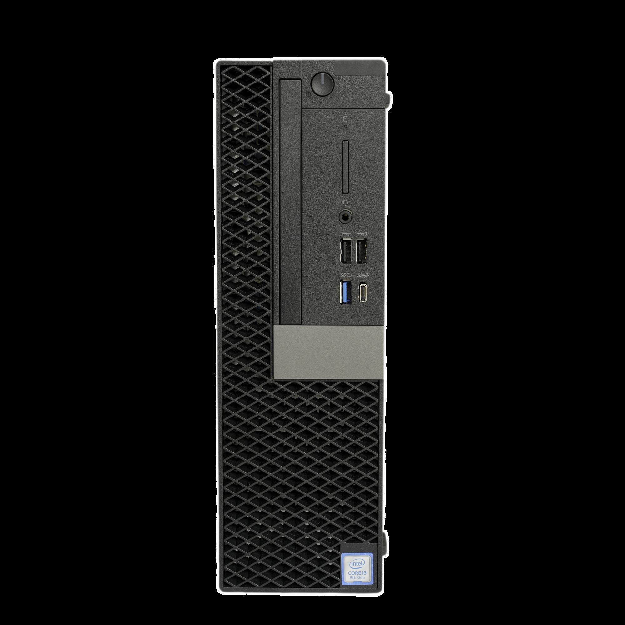 Servidor para Hik-Central / Hasta 32 Camaras / Intel? Core? i3-8100 / 64 Bits / Alto Desempeño / Diseño Compacto