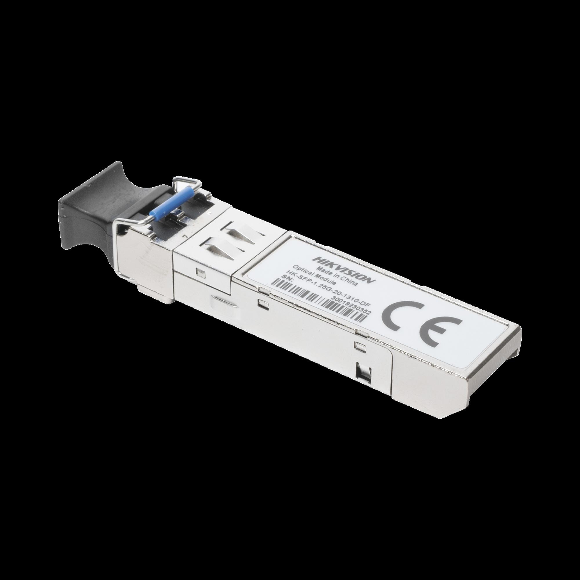 Transceptor Mini-GBIC SFP / Distancia 20 KM / Conector LC / Duplex / Monomodo