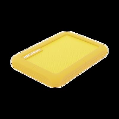 Disco Duro Portátil 1 TB / Color Verde / Conector USB 3.0 a Micro B / Cubierta con Goma Protectora para Amortiguar las Caídas