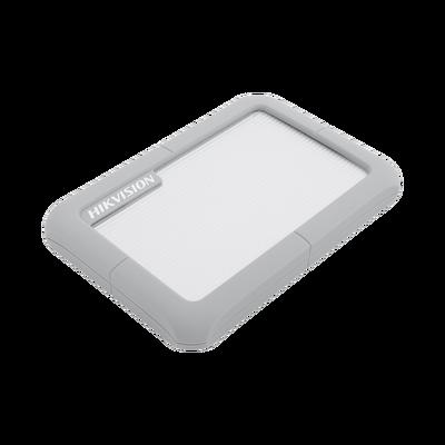 Disco Duro Portátil 1 TB / Color Gris / Conector USB 3.0 a Micro B / Cubierta con Goma Protectora para Amortiguar las Caídas