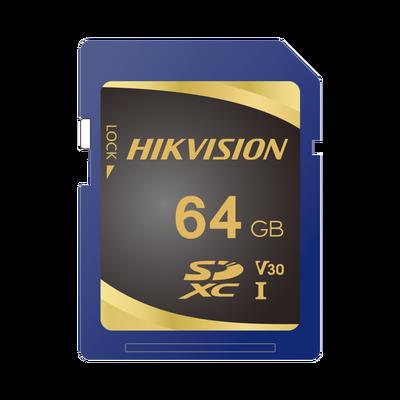 Memoria SD Clase 10 de 64 GB / Especializada Para Videovigilancia