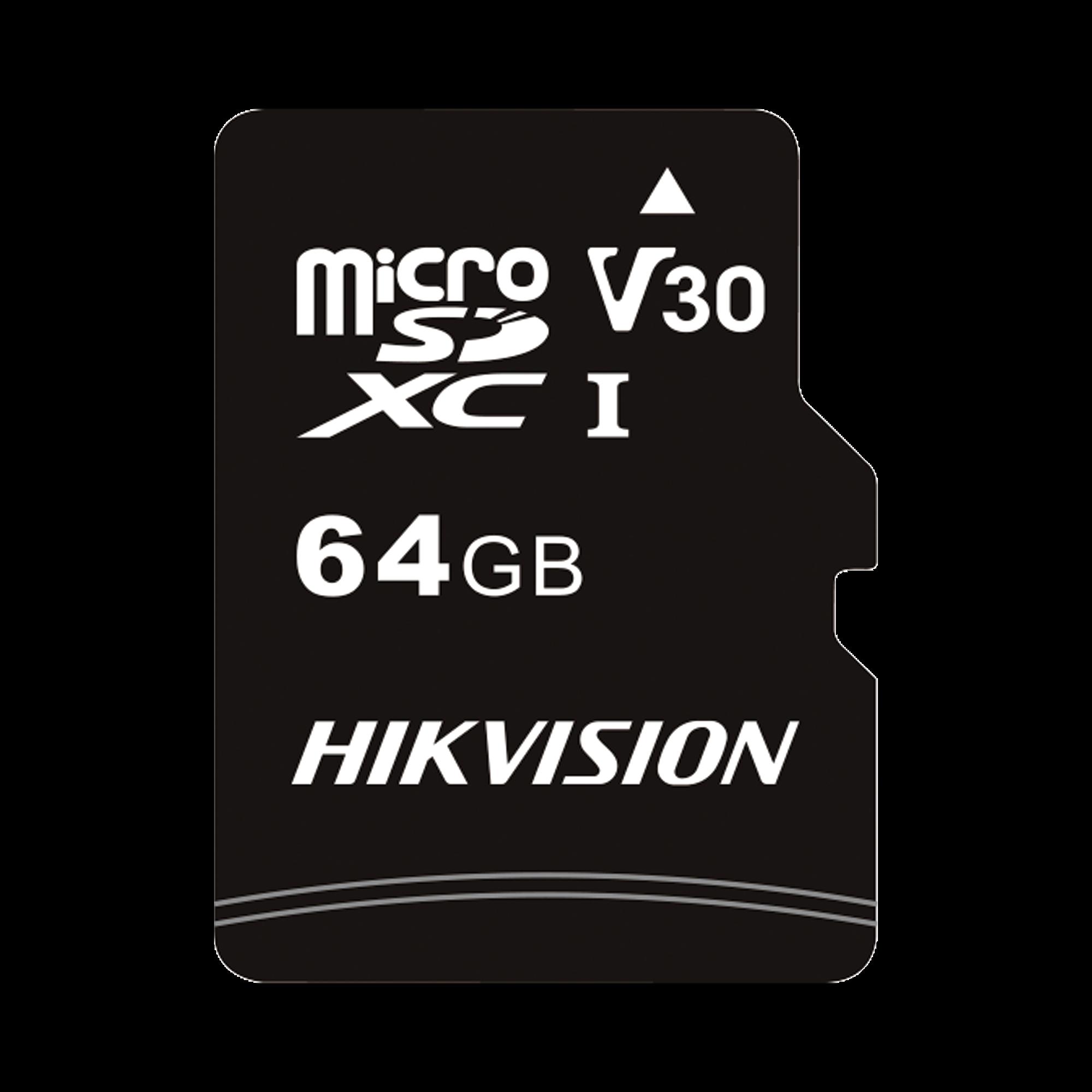 Memoria microSD para Celular o Tablet / 64 GB / Multipropósito