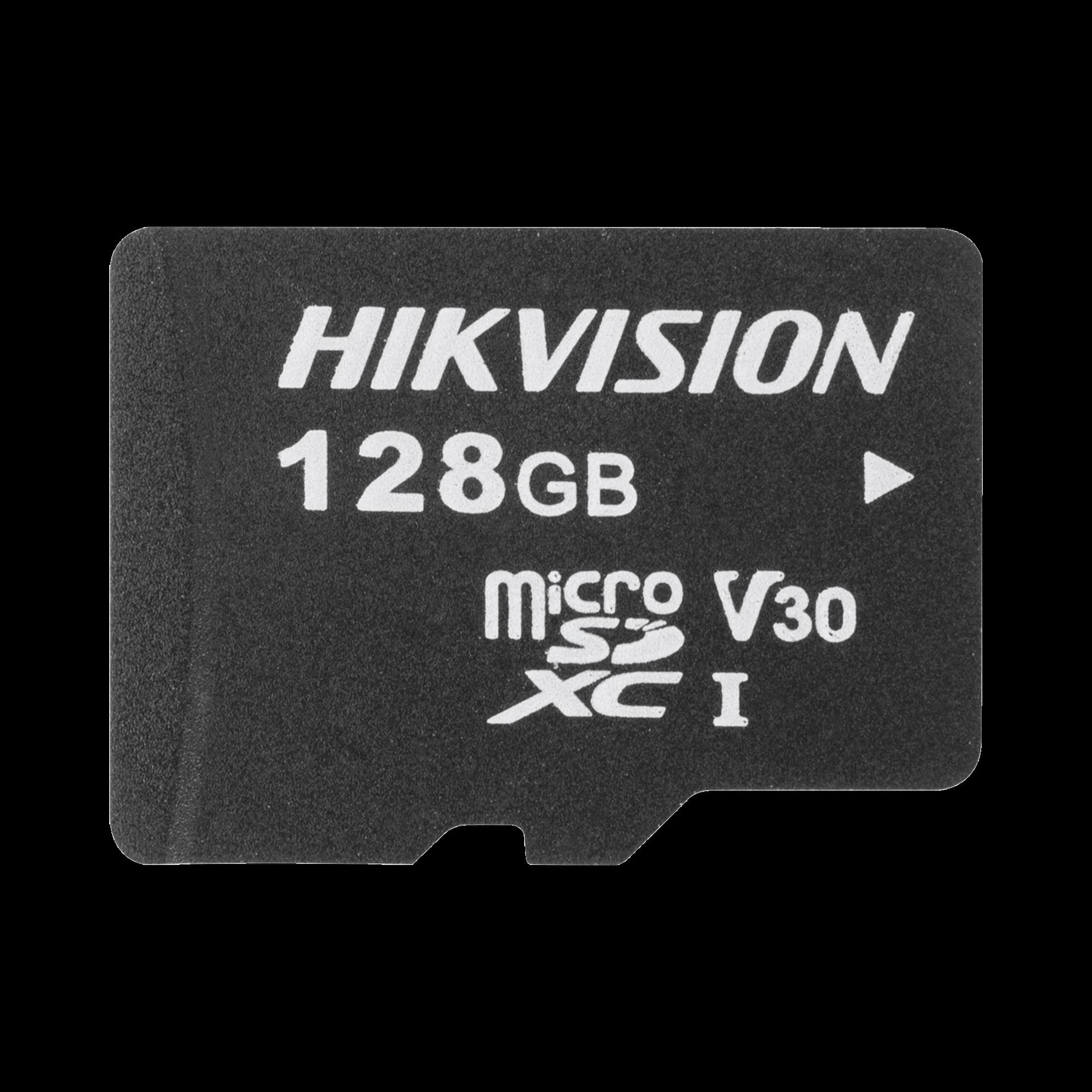 Memoria microSD / Clase 10 de 128 GB / Especializada Para Videovigilancia / Compatibles con cámaras HIKVISION