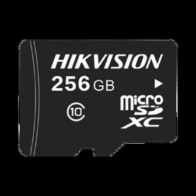 Memoria microSD / Clase 10 de 256 GB / Especializada Para Videovigilancia / Compatible con cámaras HIKVISION