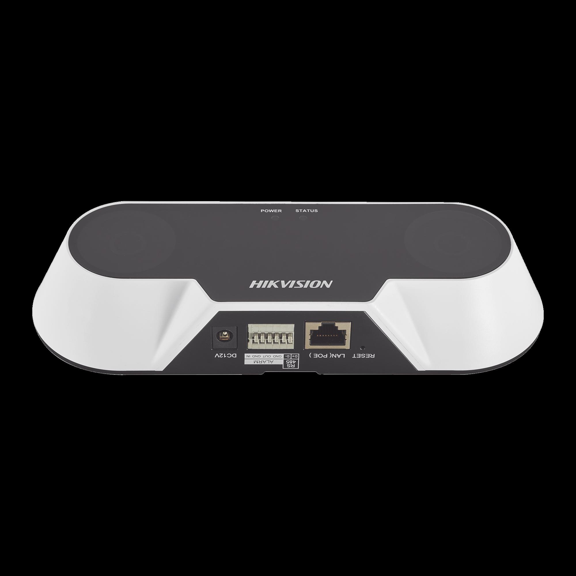 Cámara IP Dual 2 Megapixel / Conteo de Personas / PoE / Uso en Interior
