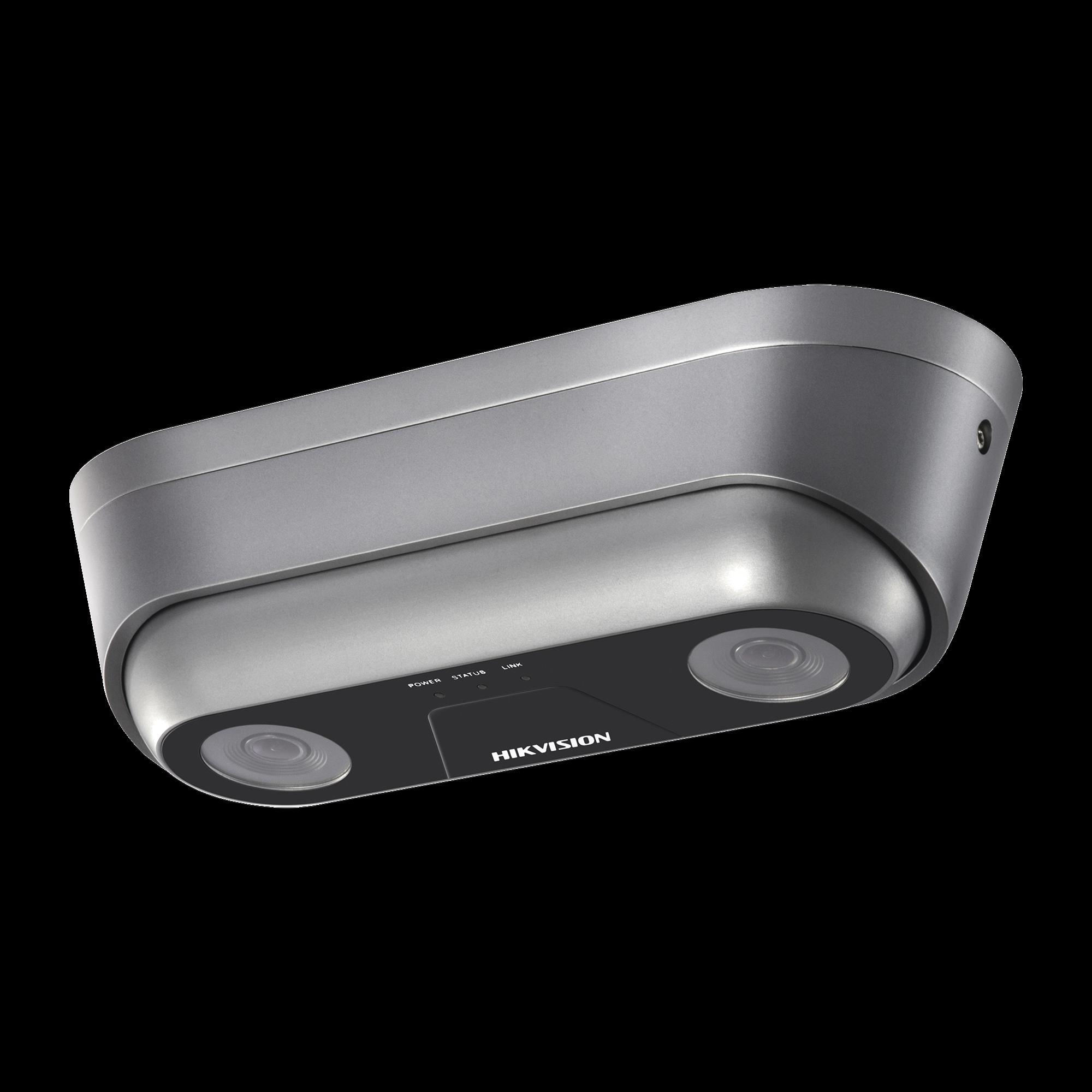 Cámara Dual IP 640 x 960 para Conteo de Personas / Lente 2.8 mm / 12 VCD / PoE / IP66