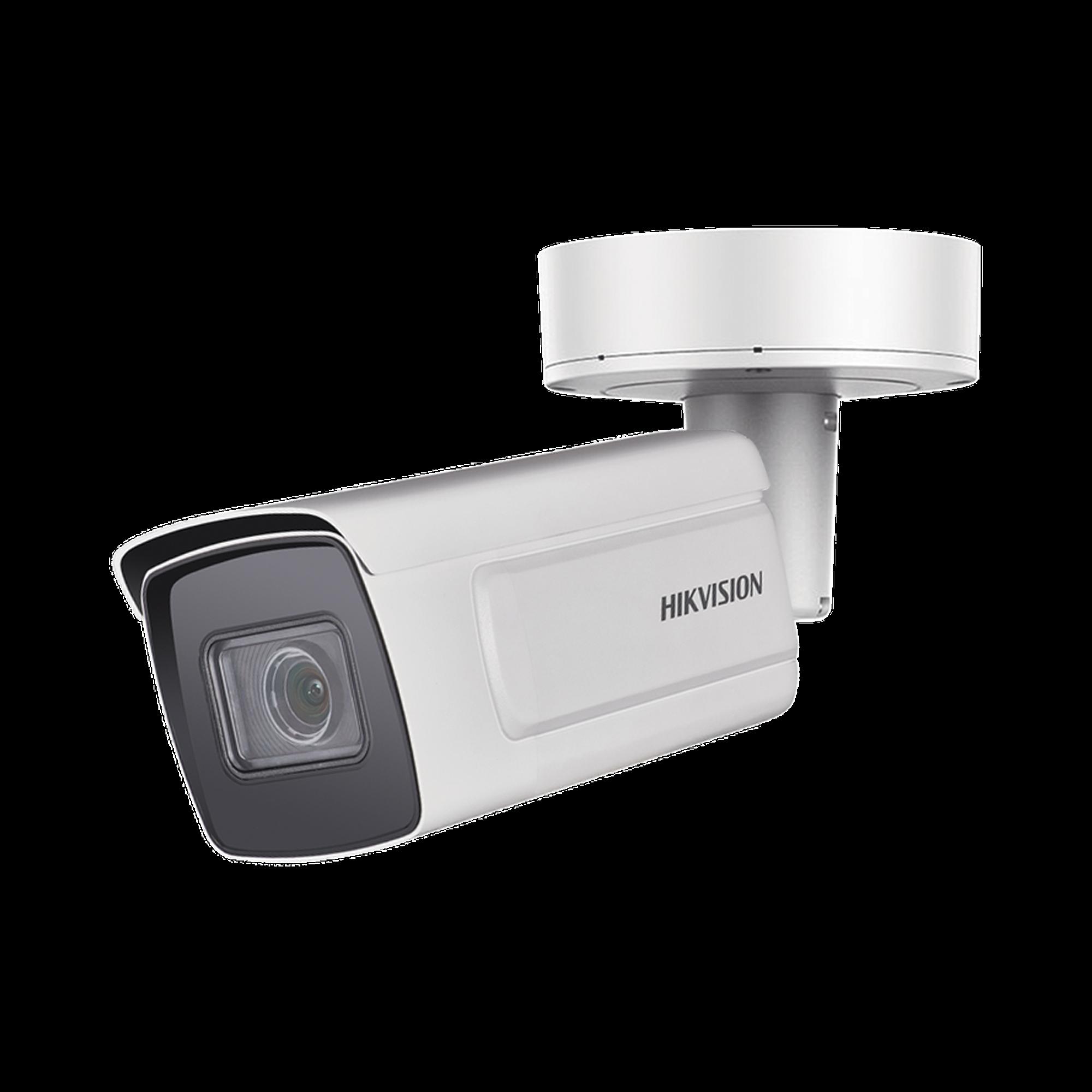 Bala IP 2 Megapixel / Lente Mot. 2.8 a 12 mm / Conteo de Personas / WDR 140 dB / DARKFIGHTER / IP67 / IK10 / IR 30 mts / Detección Facial