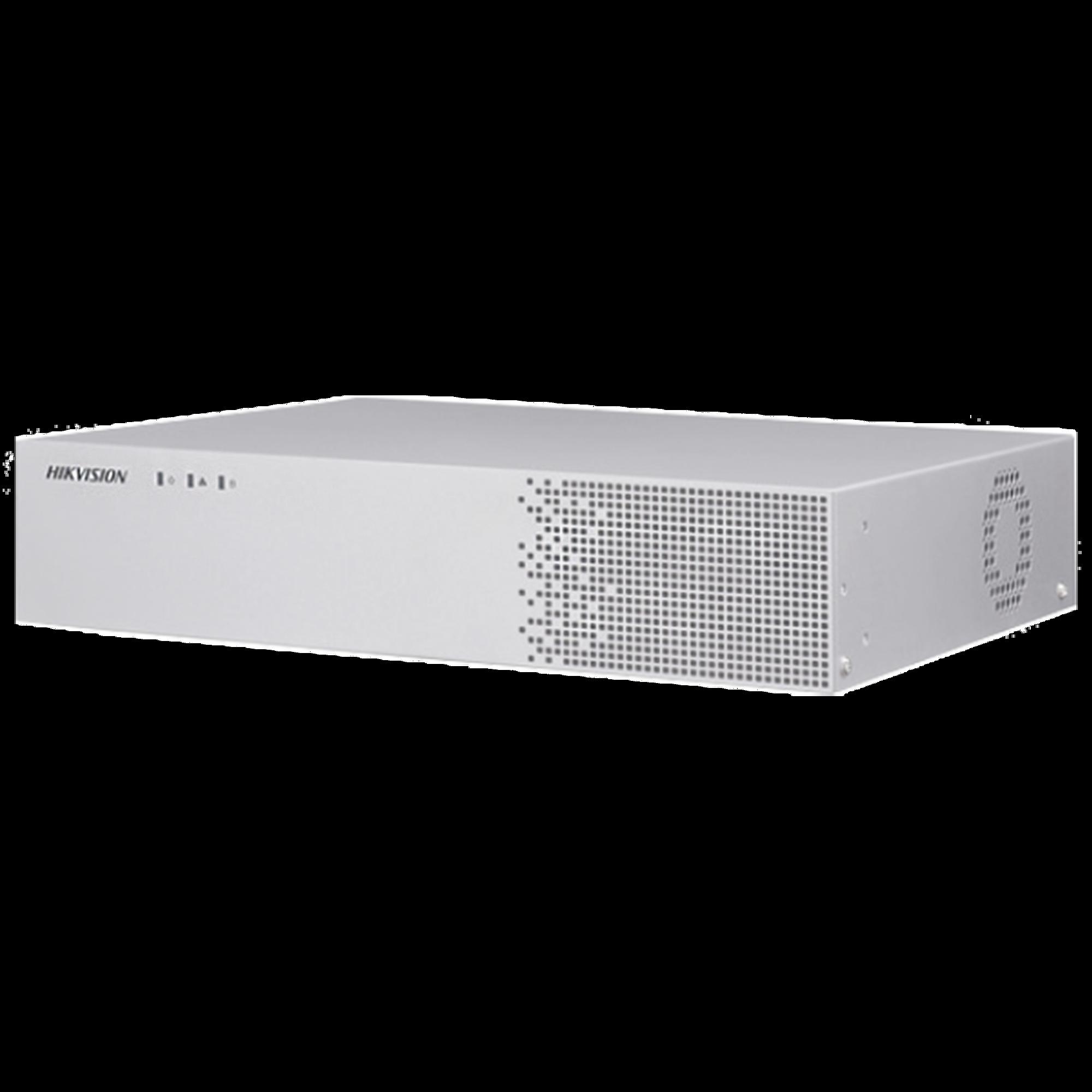 NVR 4 canales con Reconocimiento Facial / Bases de Datos / Hasta 100,000 Fotografías / Incluye 1 HDD de 1 TB