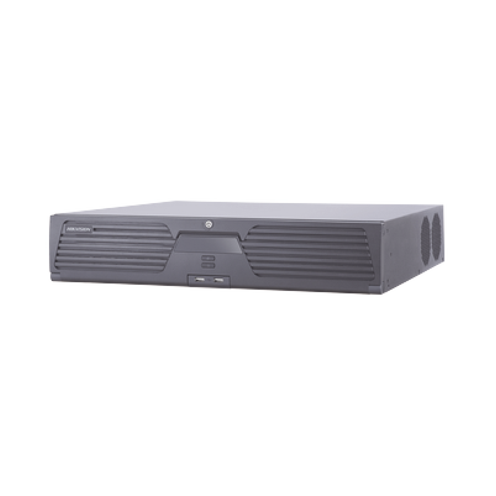 NVR 12 Megapixel (4K) / 32 Canales IP / 8 Bahias de Disco Duro / 2 Tarjetas de Red / Soporta RAID / Reconocimiento Facial / Bases de Datos / Filtro de Falsas Alarmas / Deteccion de Cuerpo Humano y Vehiculos