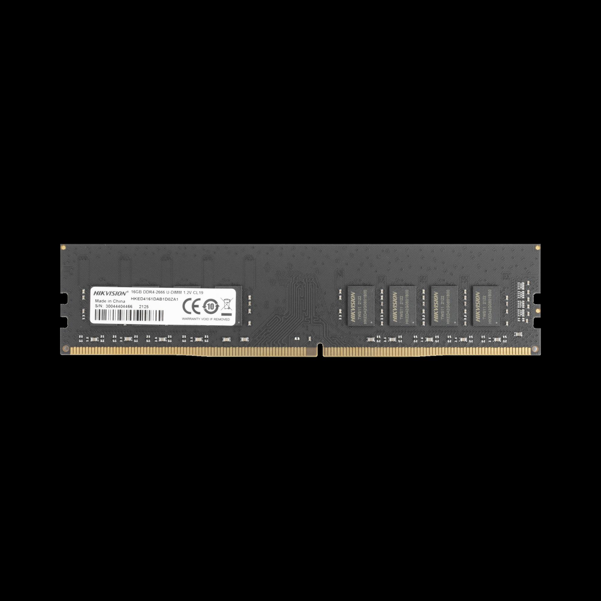 Modulo de Memoria RAM 16 GB / 2666 MHz / UDIMM