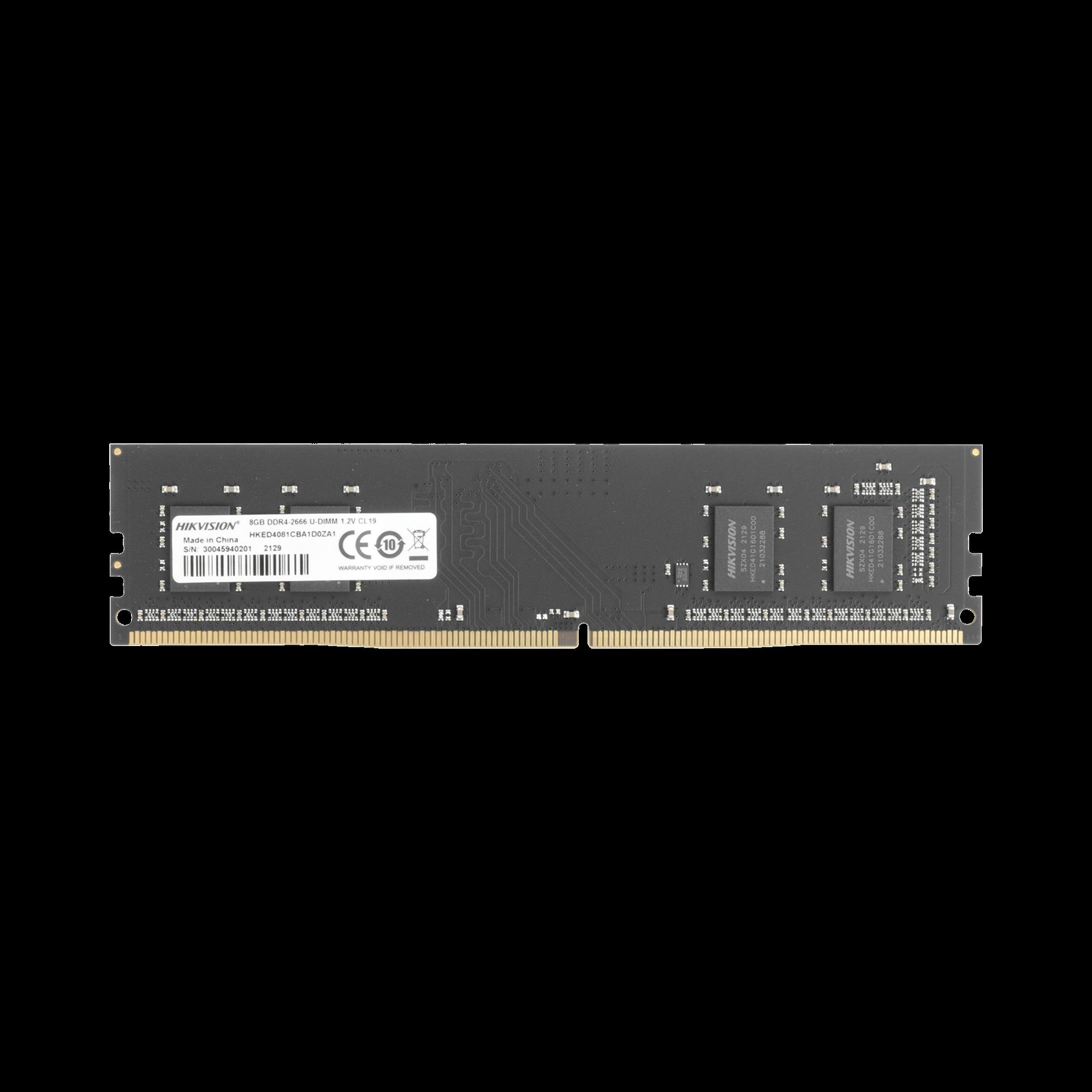 Modulo de Memoria RAM 8 GB / 2666 MHz / UDIMM