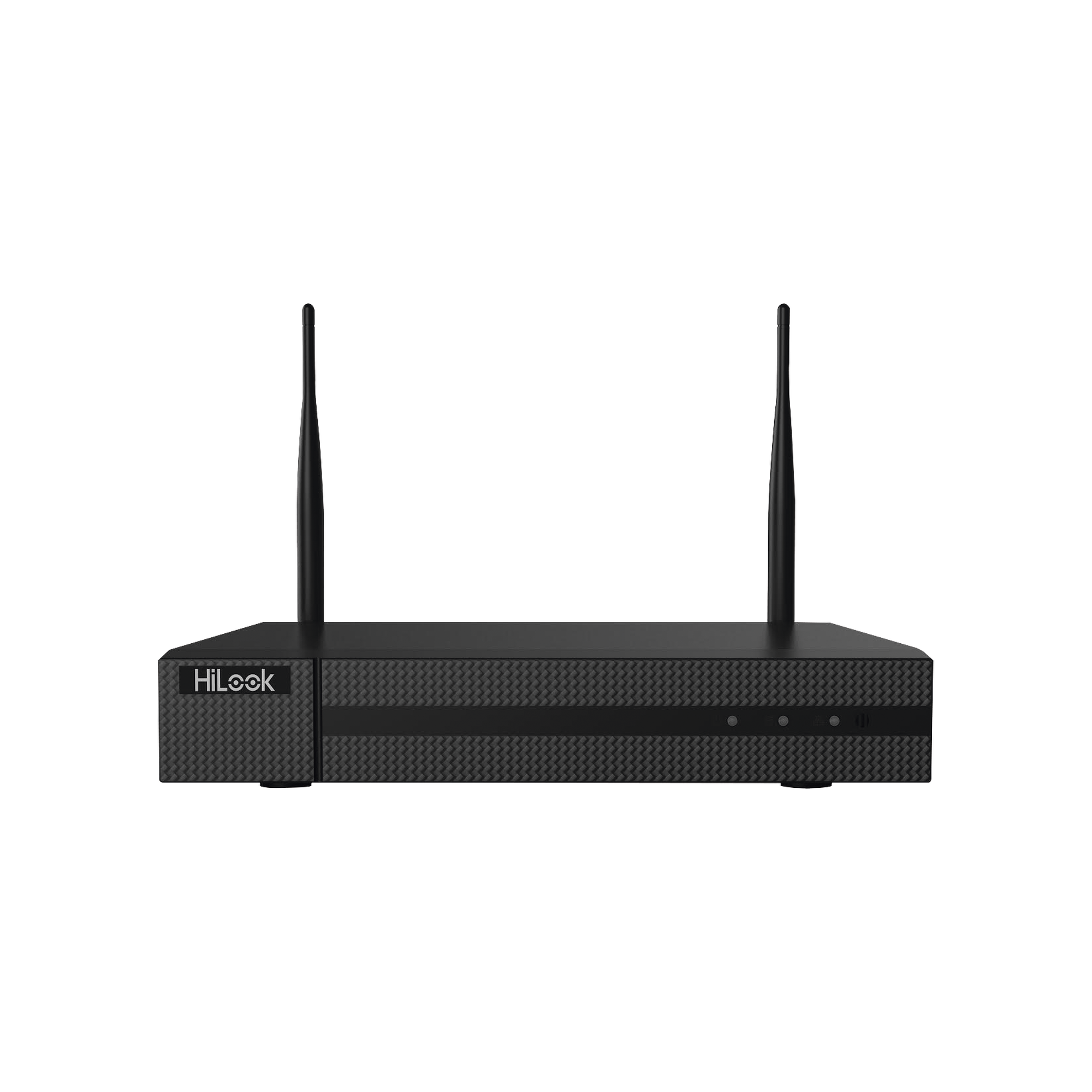 NVR 4 Megapixel / 4 canales IP / 1 Bahía de Disco Duro / 2 Antenas WIFI / Salida de Vídeo Full HD