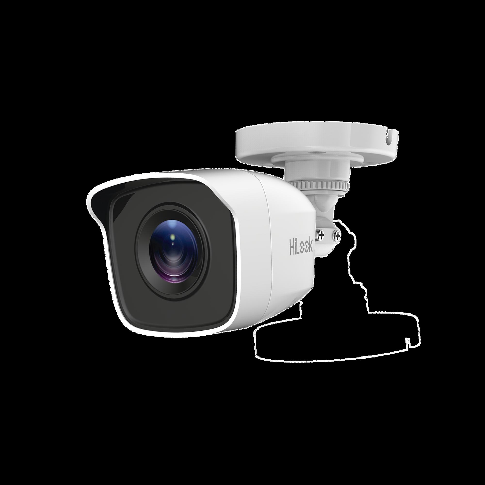 Bala TURBOHD 720p / Gran Angular 92 grados / Lente 2.8 mm / CLIMAS EXTREMOS / IR EXIR Inteligente 20 mts / Exterior IP66 / dWDR / TVI-AHD-CVI-CVBS