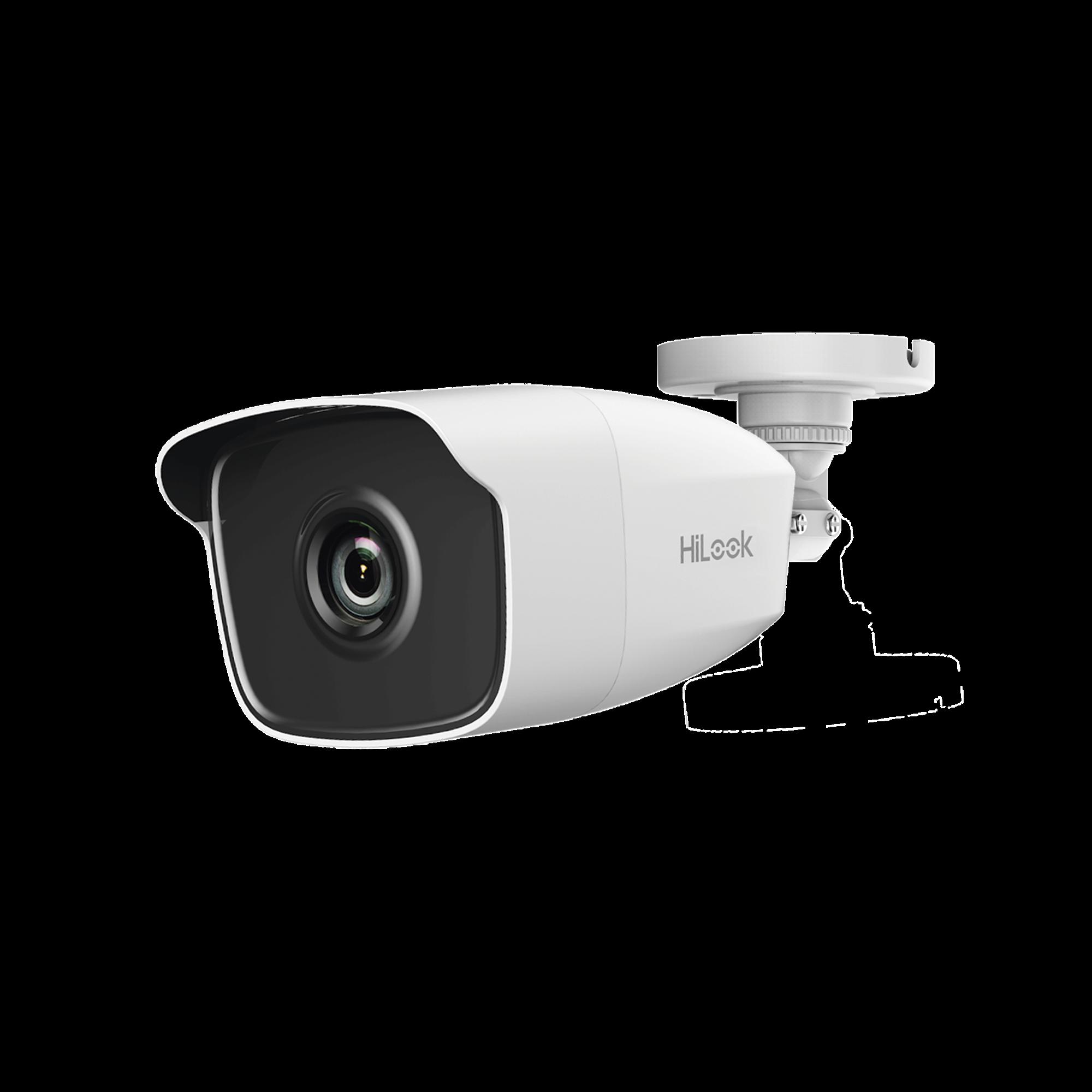 Bala TURBO 2 Megapixel (1080p) / Gran Angular 106? / Lente 2.8 mm / METAL/ IR EXIR Inteligente 50 mts / Exterior IP66 / Ultra Baja Iluminación / WDR 120 dB
