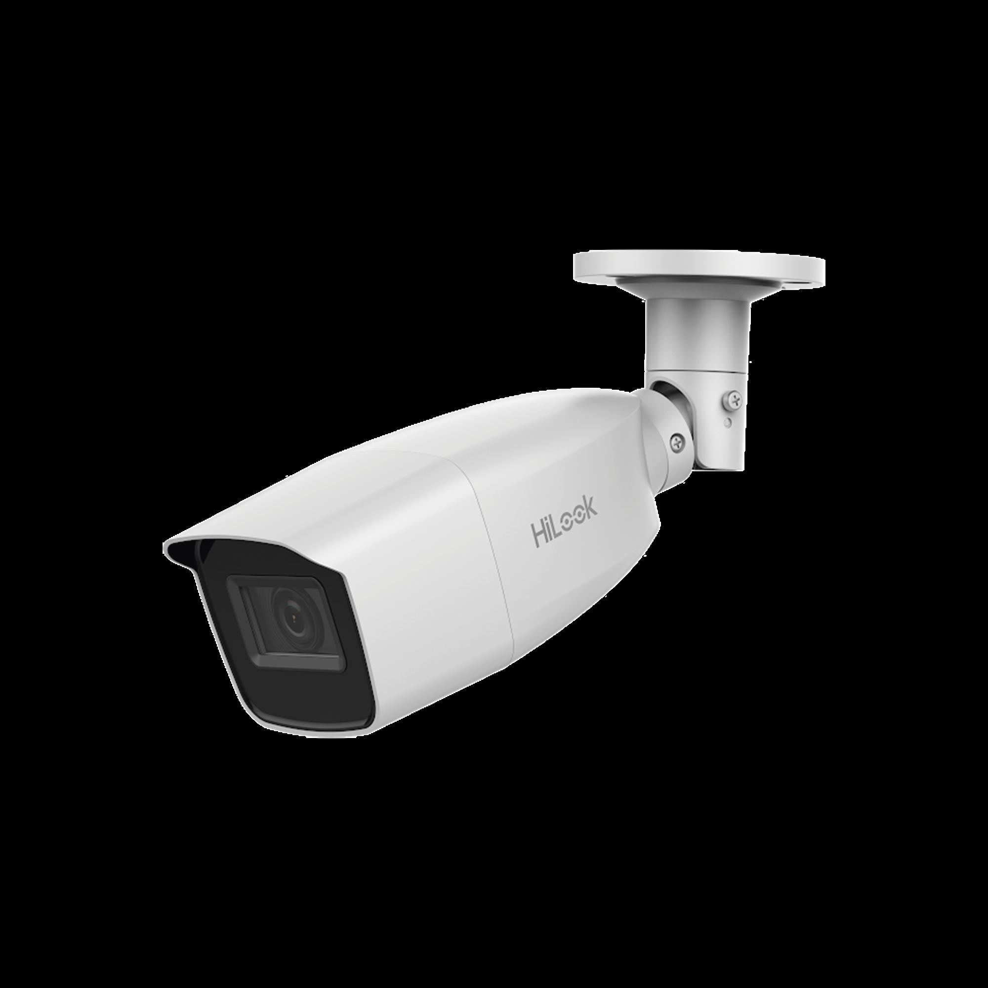 Bala TURBOHD 4 Megapixel / Lente Manual  2.8 - 12 mm / 40 mts IR EXIR / Exterior IP66 / 4 Tecnologias (TVI / AHD / CVI / CVBS) / dWDR