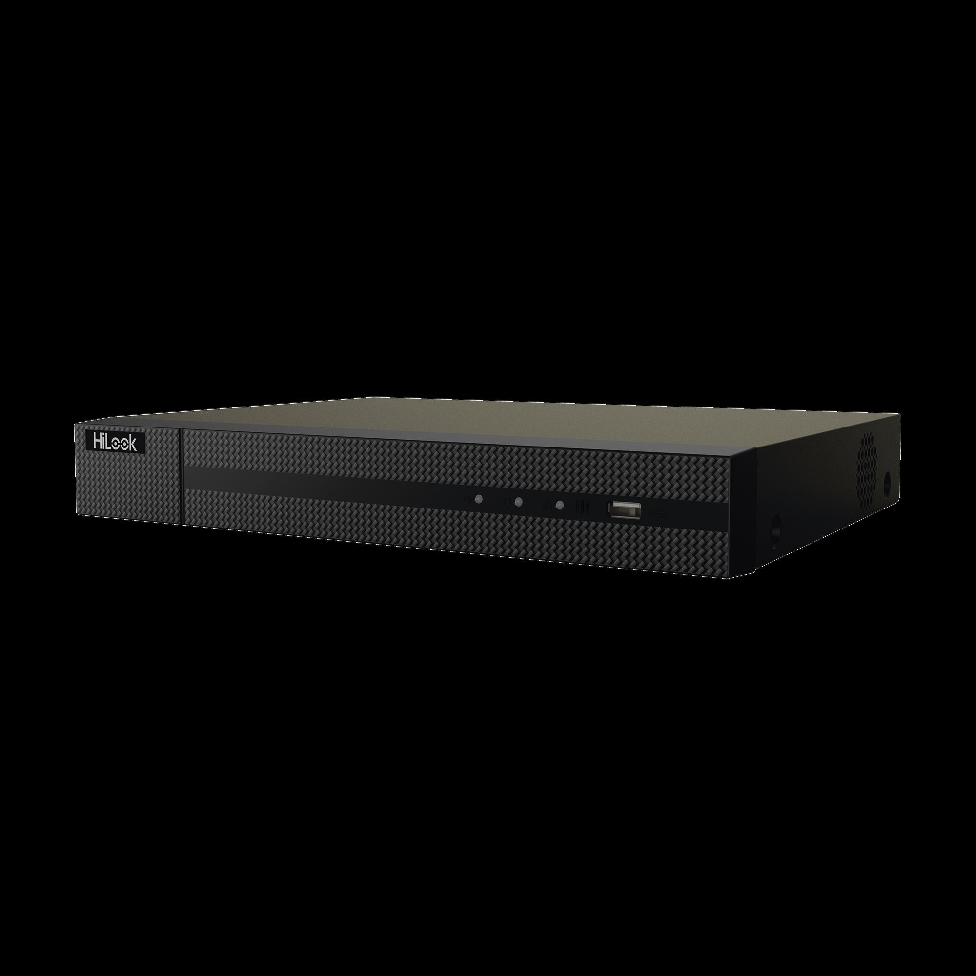 NVR 8 Megapixel (4K) / 8 Canales IP / 8 Puertos PoE+ / 1 Bahía de Disco Duro / HDMI en 4K / Videoanaliticos