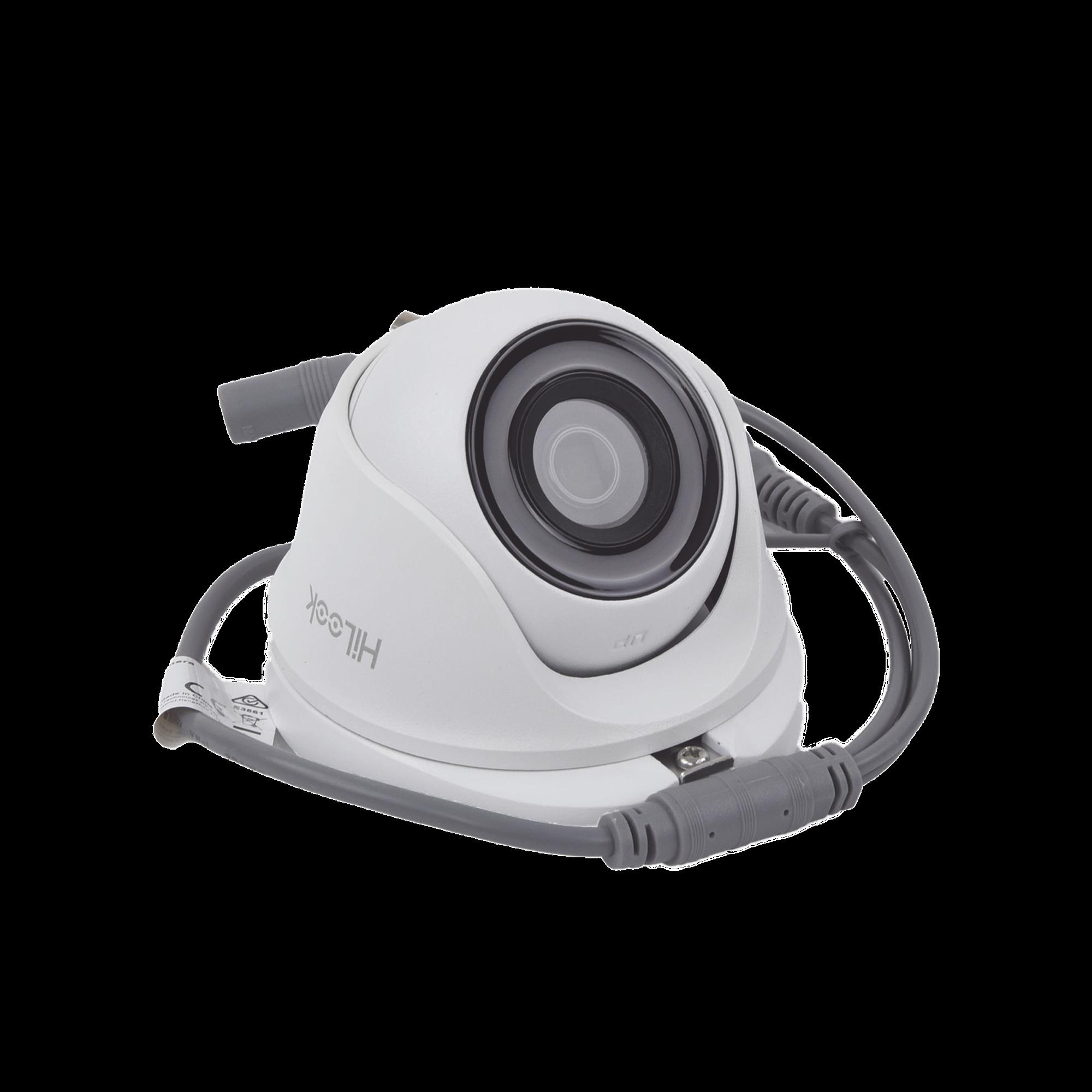 Turret TURBOHD 1080p / Lente 2.8 mm / 20 mts IR EXIR / 4 Tecnologías (TVI / AHD / CVI / CVBS) / IP66