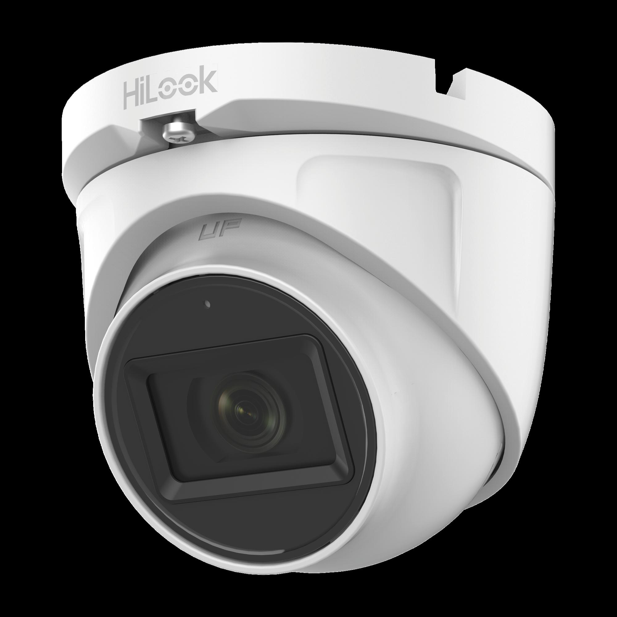 Turret TURBOHD 2 Megapixel (1080p) / Gran Angular 106? / Lente 2.8 mm / Audio por Coaxitron / 30 mts IR EXIR / Exterior IP66 / 4 Tecnologias / dWDR
