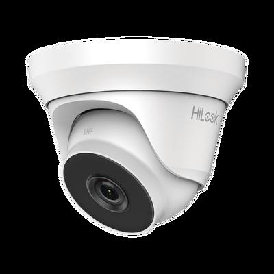 Turret TURBOHD 2 Megapixel (1080p) / Lente 2.8 mm / 50 mts IR EXIR / TVI-AHD-CVI-CVBS / IP66 / Ultra Baja Iluminación / WDR 120 dB
