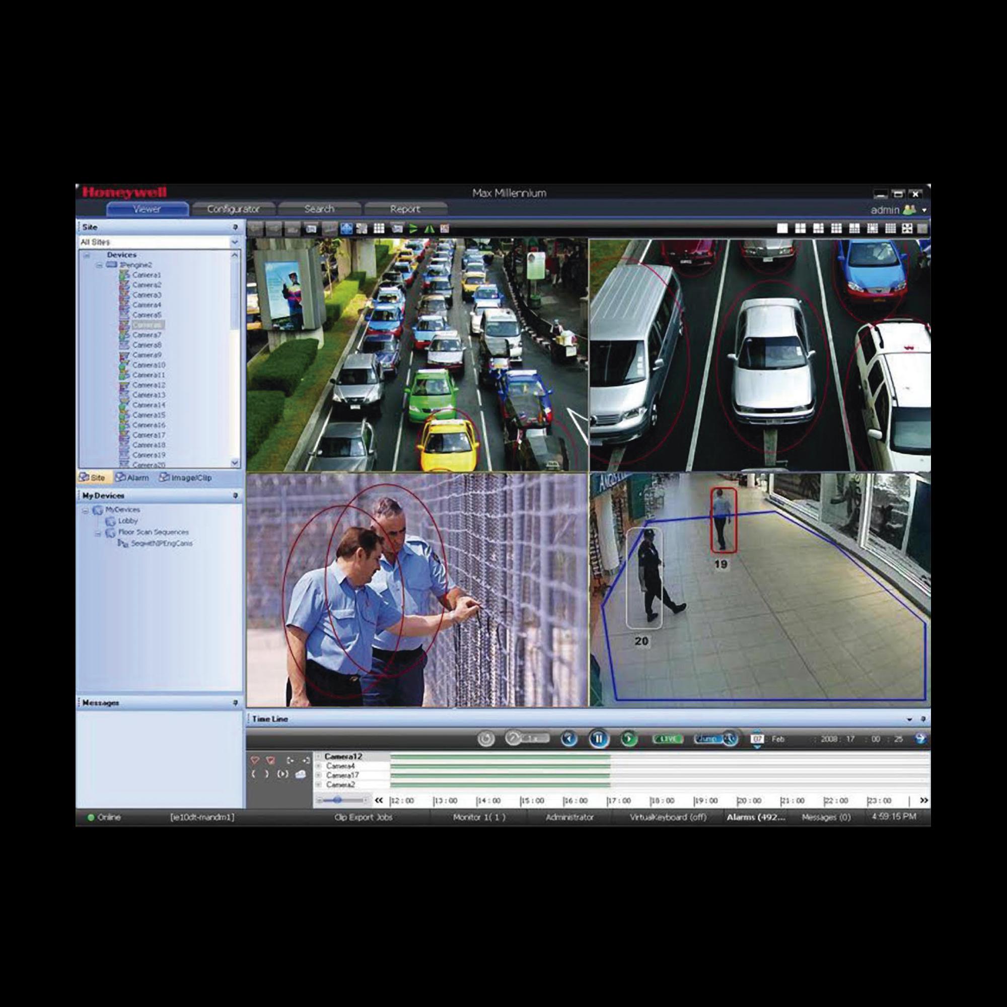 Licencia de 128 Canales Adicionales Para Maxpro VMS