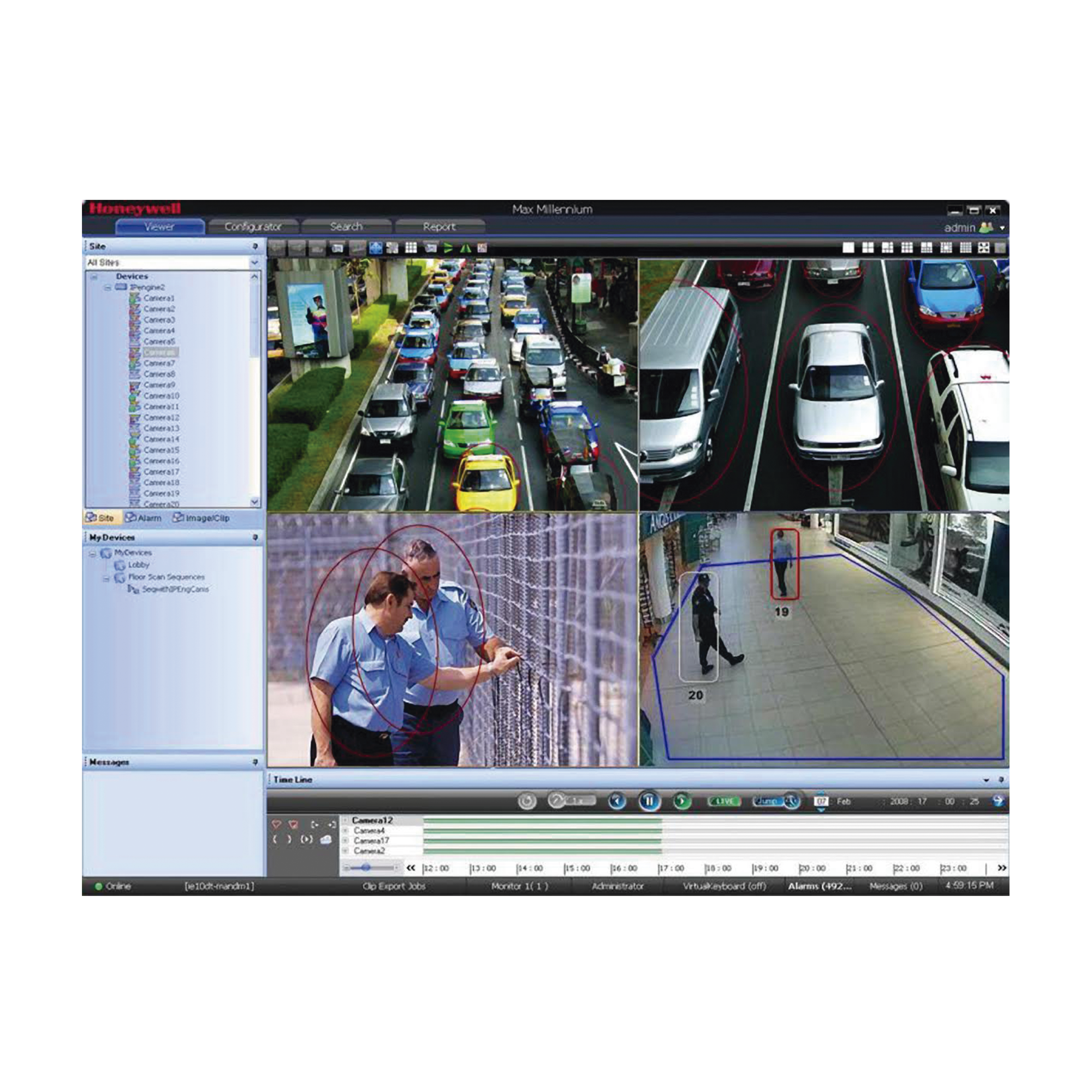 Licencia de 256 Canales Adicionales Para Maxpro VMS