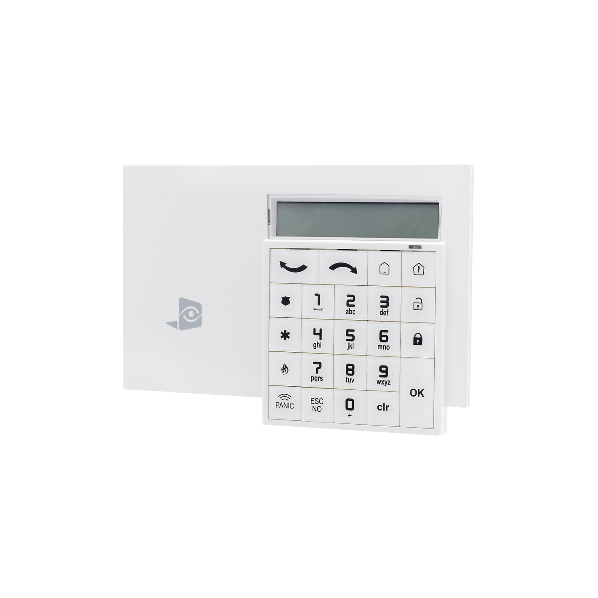 Teclado alfanumérico inalámbrico para paneles WIP630 y XTOIP630 de VideoFied