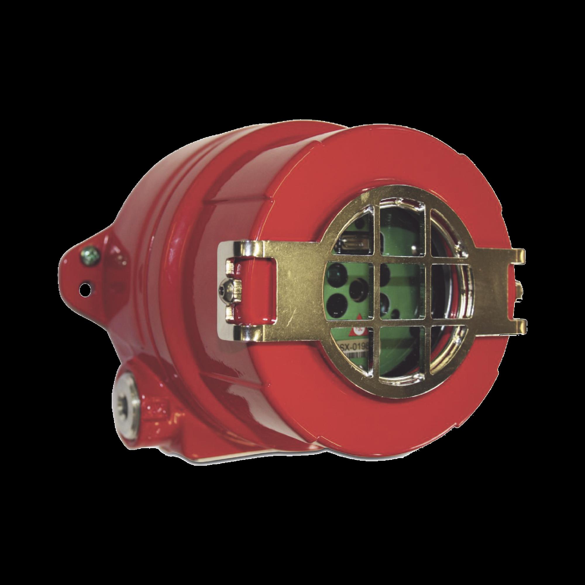 Detector de Flama / Electrooptico / Tecnologia Avanzada / Espectro Multiple / Ultravioleta (UV) / Doble Infrarrojo (IR) / Visible (VIS) / Fabricado en Aluminio Libre de Cobre