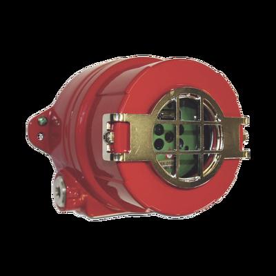 Detector de Flama / Electroóptico / Tecnología Avanzada / Espectro Múltiple / Ultravioleta (UV) / Doble Infrarrojo (IR) / Visible (VIS) / Fabricado en Aluminio Libre de Cobre