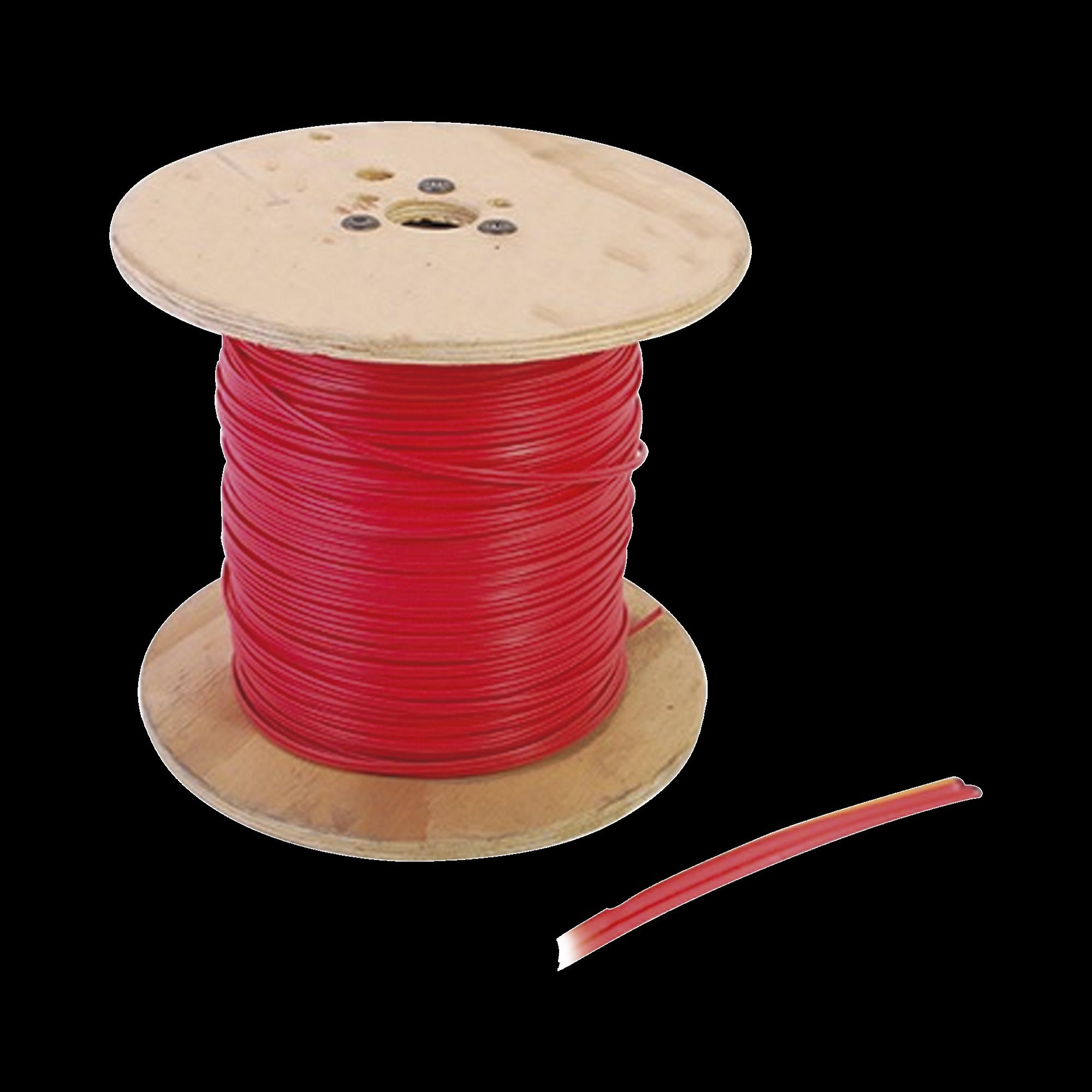 Bobina de Alambre de 150 metros, calibre 16 con 2 conductores, tipo FPLR-CL2R, para aplicaciones en sistemas de detección de incendio y sistemas de voceo